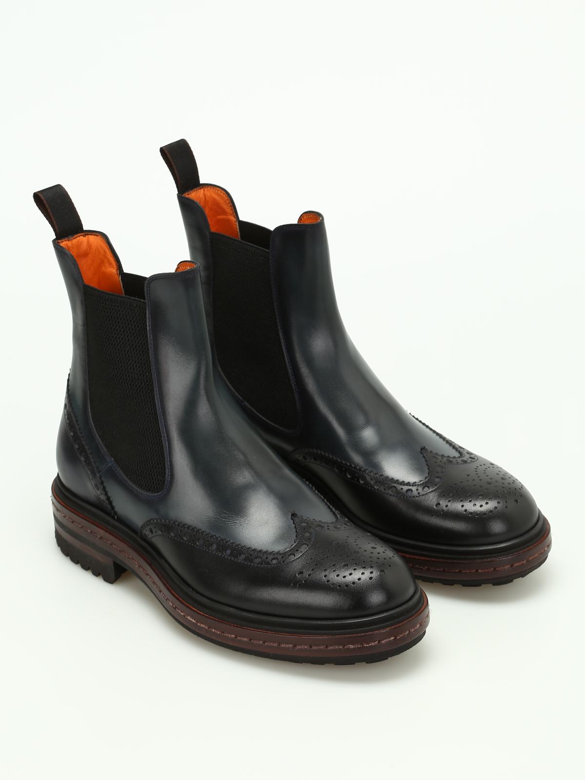 santoni Boots leather GDFIMAJt