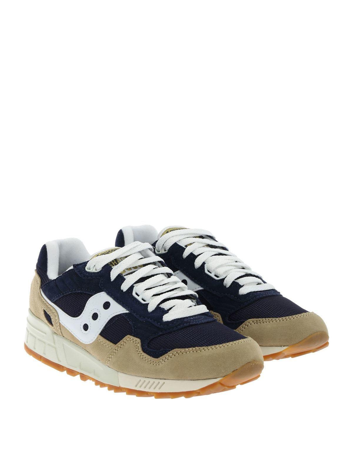 Saucony Sneakers Shadow 5000 blu e beige sneakers S7040420