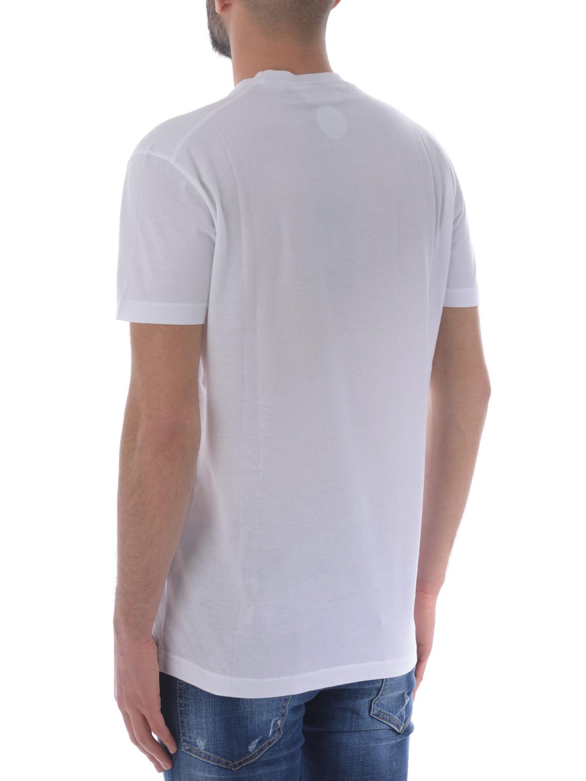 60e120ea9b6a5 Dsquared2 - Savage print T-shirt - t-shirts - S71GD0627S22427100