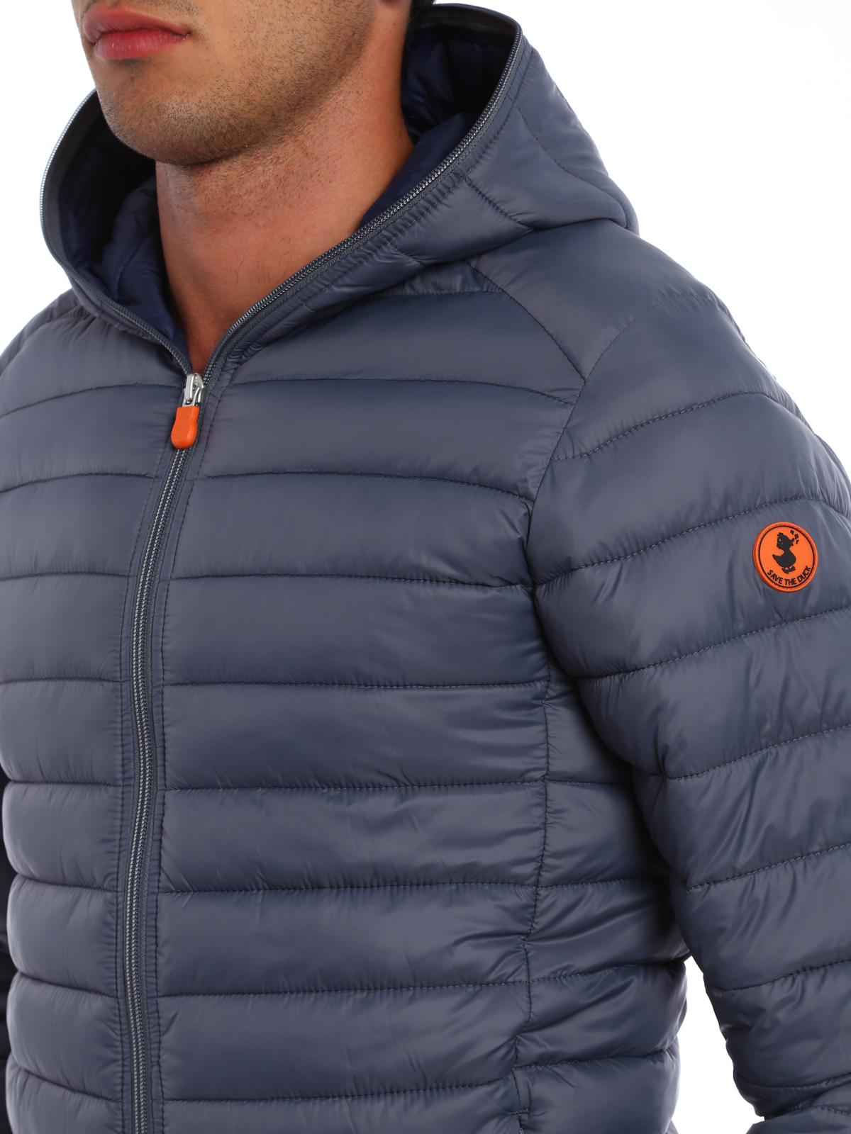 official photos c4384 01d47 Save the Duck - Water resistant padded jacket - padded ...