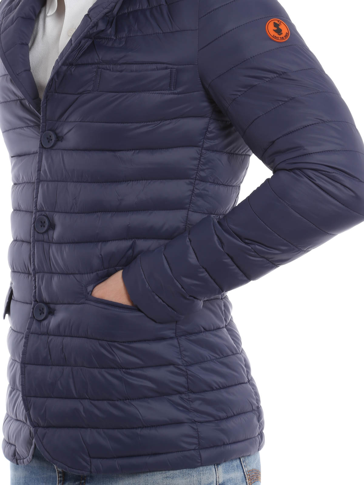 promo code f9c5d 19613 Save the Duck - Giga padded blazer - padded jackets - D3098M ...