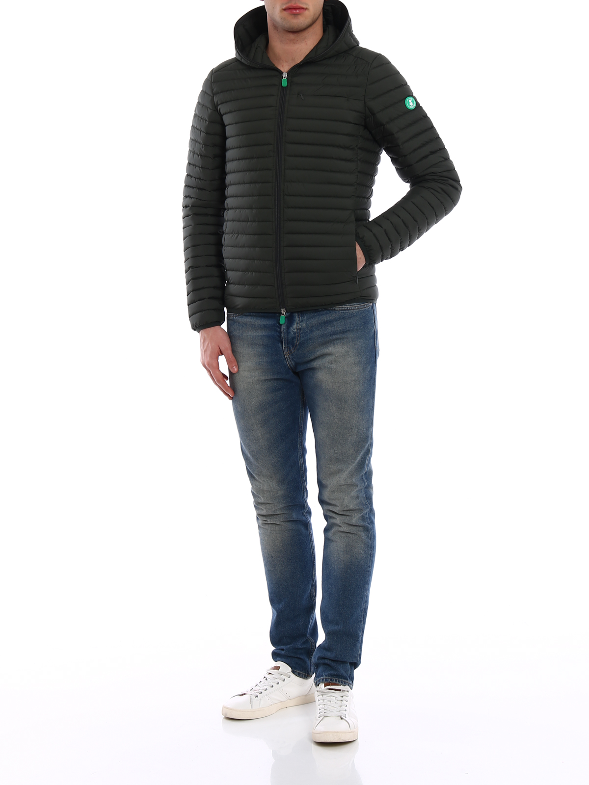c9dc12c57d0728 Save The Duck: padded jackets online - Recycled collection padded jacket