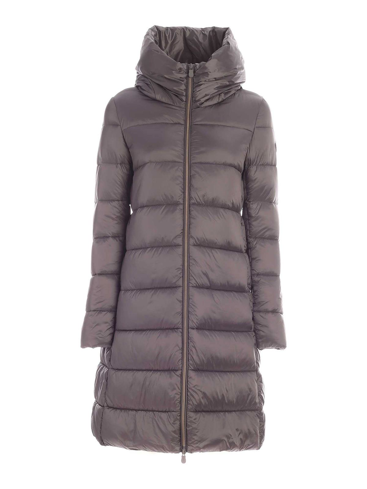 Save The Duck QUILTED PADDED LONG COAT