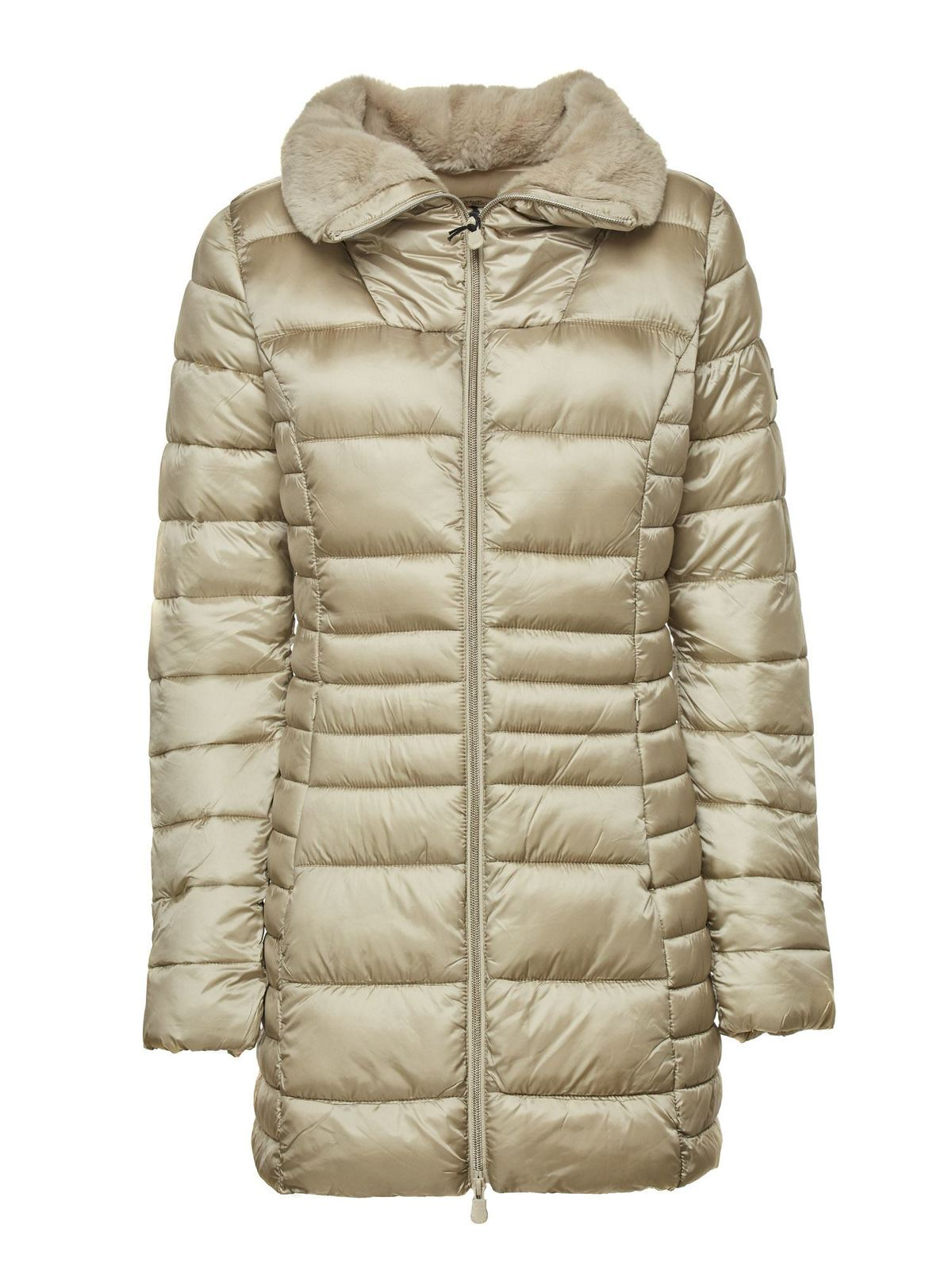 Save The Duck QUILTED DOWN JACKET IN PINK
