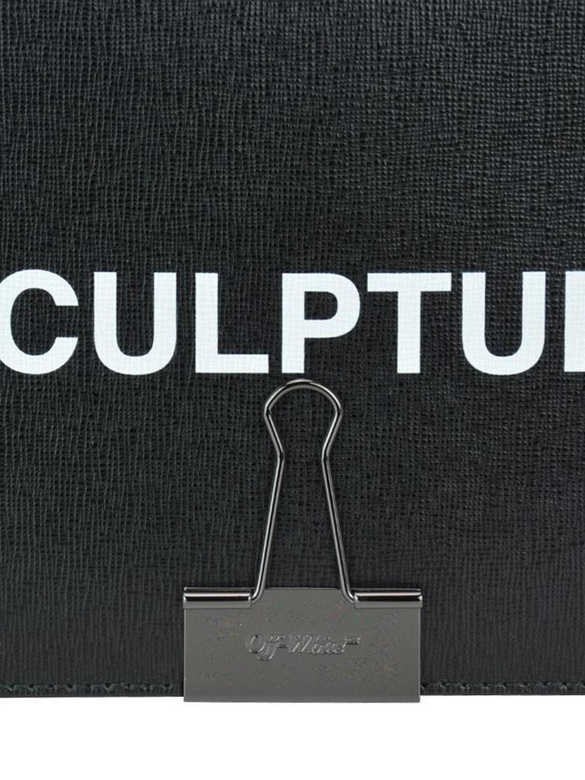 605beb5e24 Off-White - Sac Porté Épaule - Sculpture - Sacs portés épaule ...