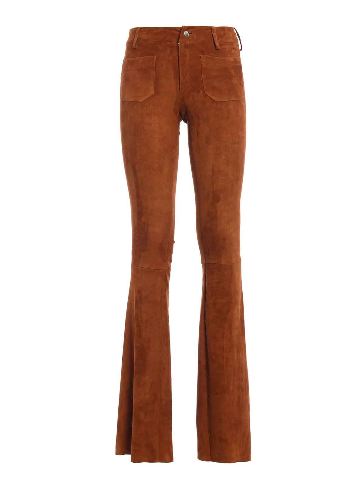 Men's Ariat Jeans Pants Suede riding patches Sz 36 x 32 Reg Western Work Thick durable cotton with just a touch of spandex to allow for a little stretch. Brown/khaki color.