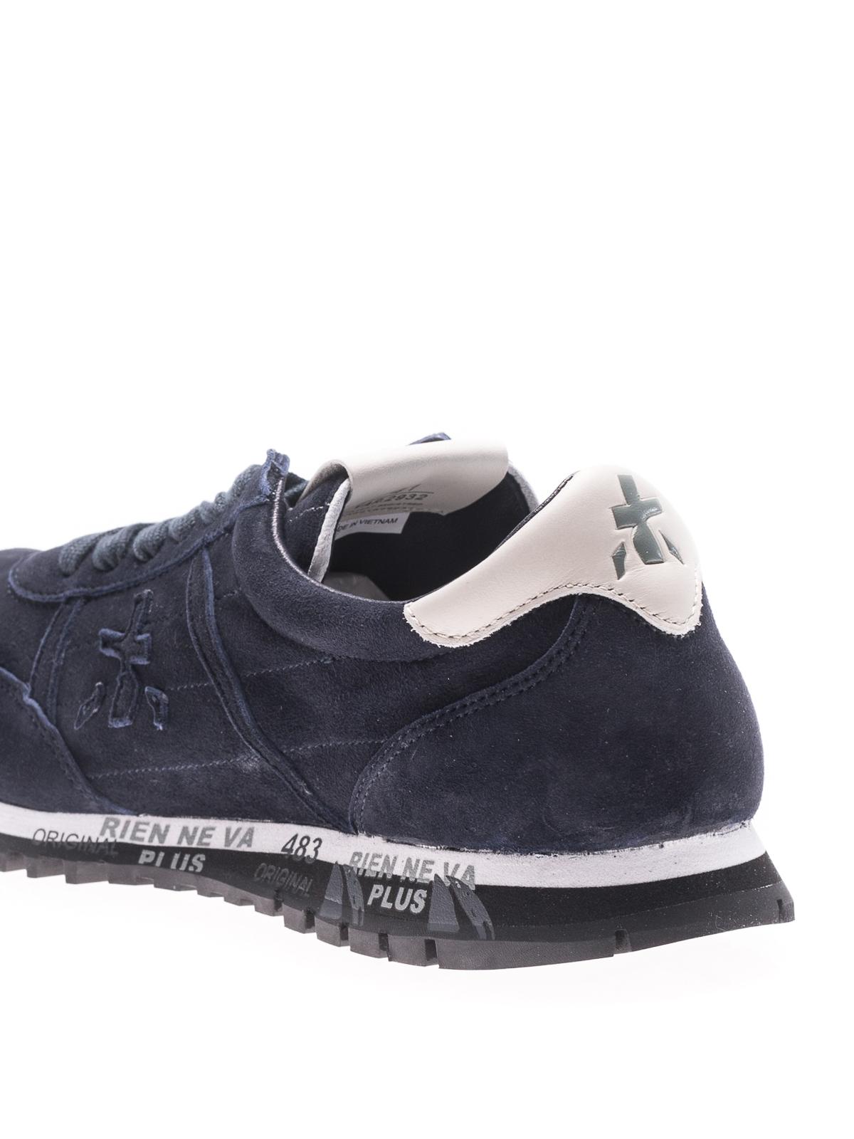 un'altra possibilità il più votato genuino goditi un grande sconto Premiata - Sean blue suede sneakers - trainers - SEAN 2932 ...