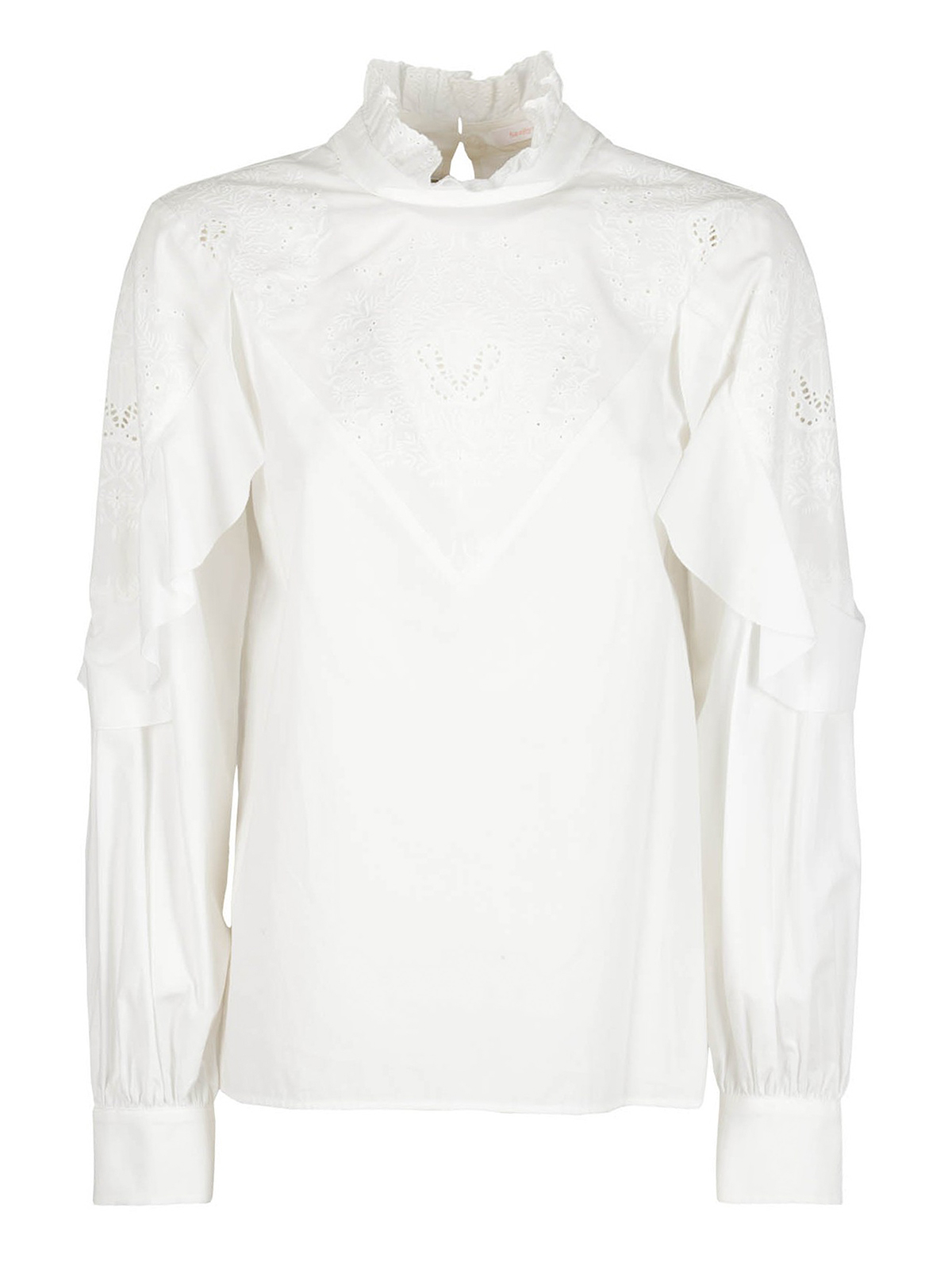 See By Chloé SANGALLO LACE BLOUSE