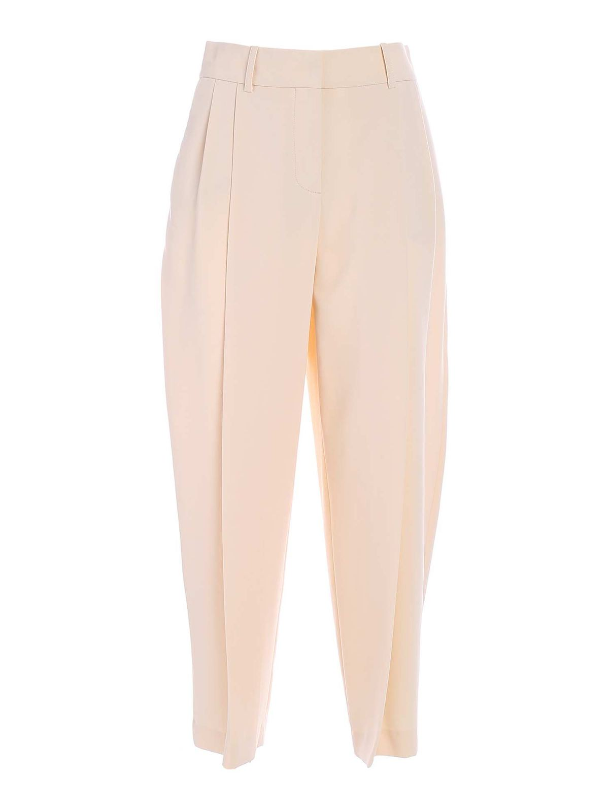 See By Chloé WIDE LEG PANTS IN BEIGE