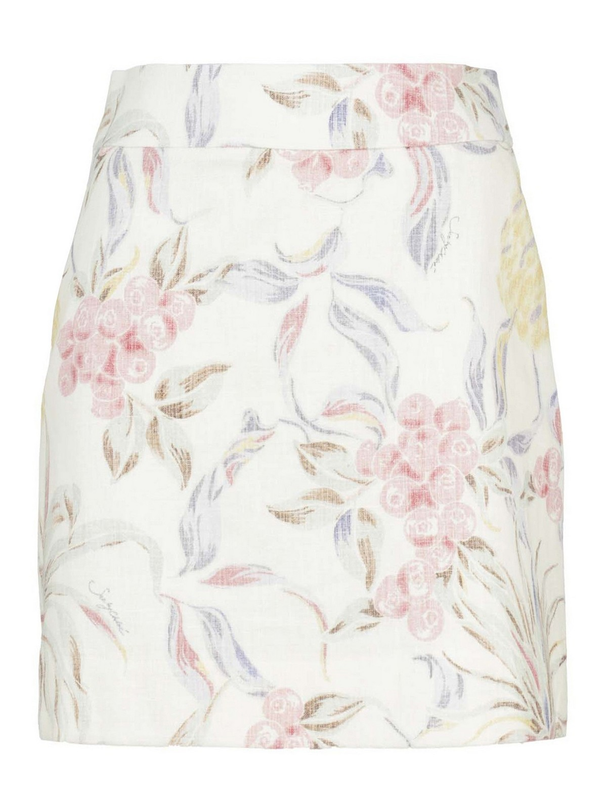 See By Chloé FLORAL PATTERNED DOME SKIRT