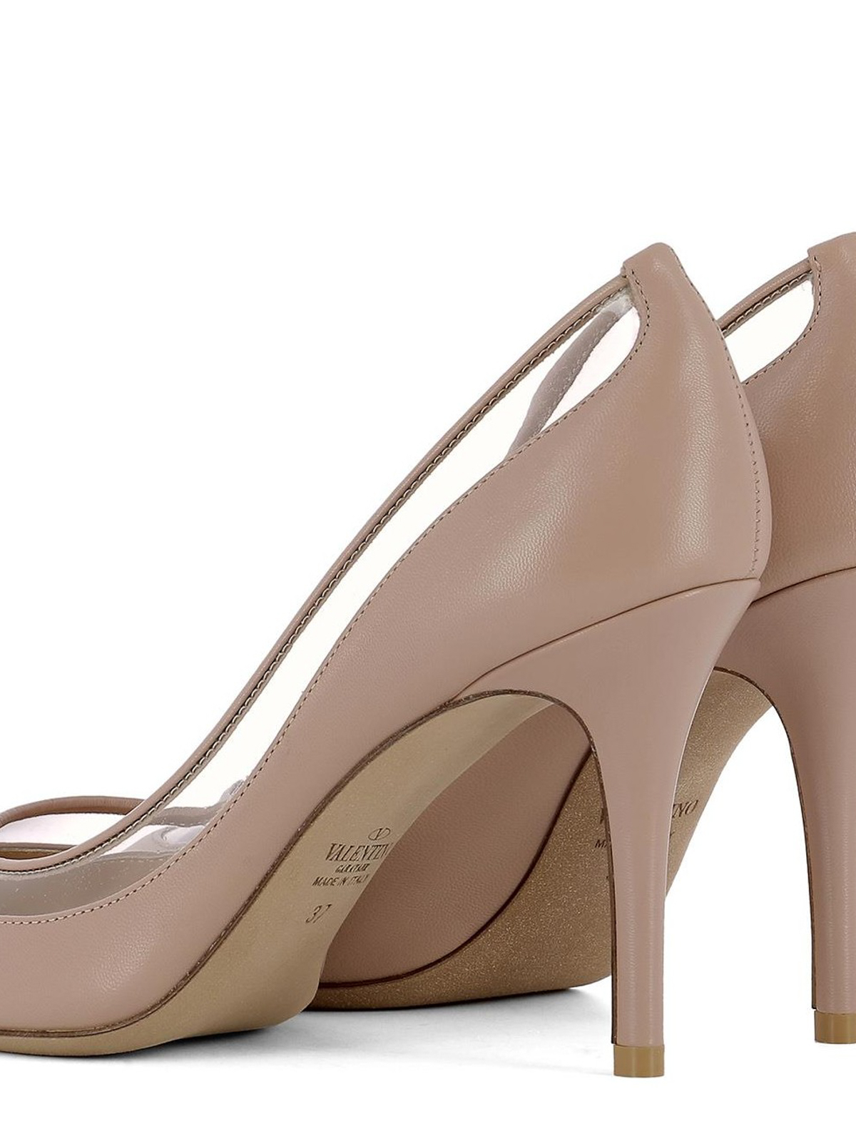 Escarpins Rose À Clair Garavani Chaussures Talon Valentino nwIzYqfT bdc5c1bc9b9a