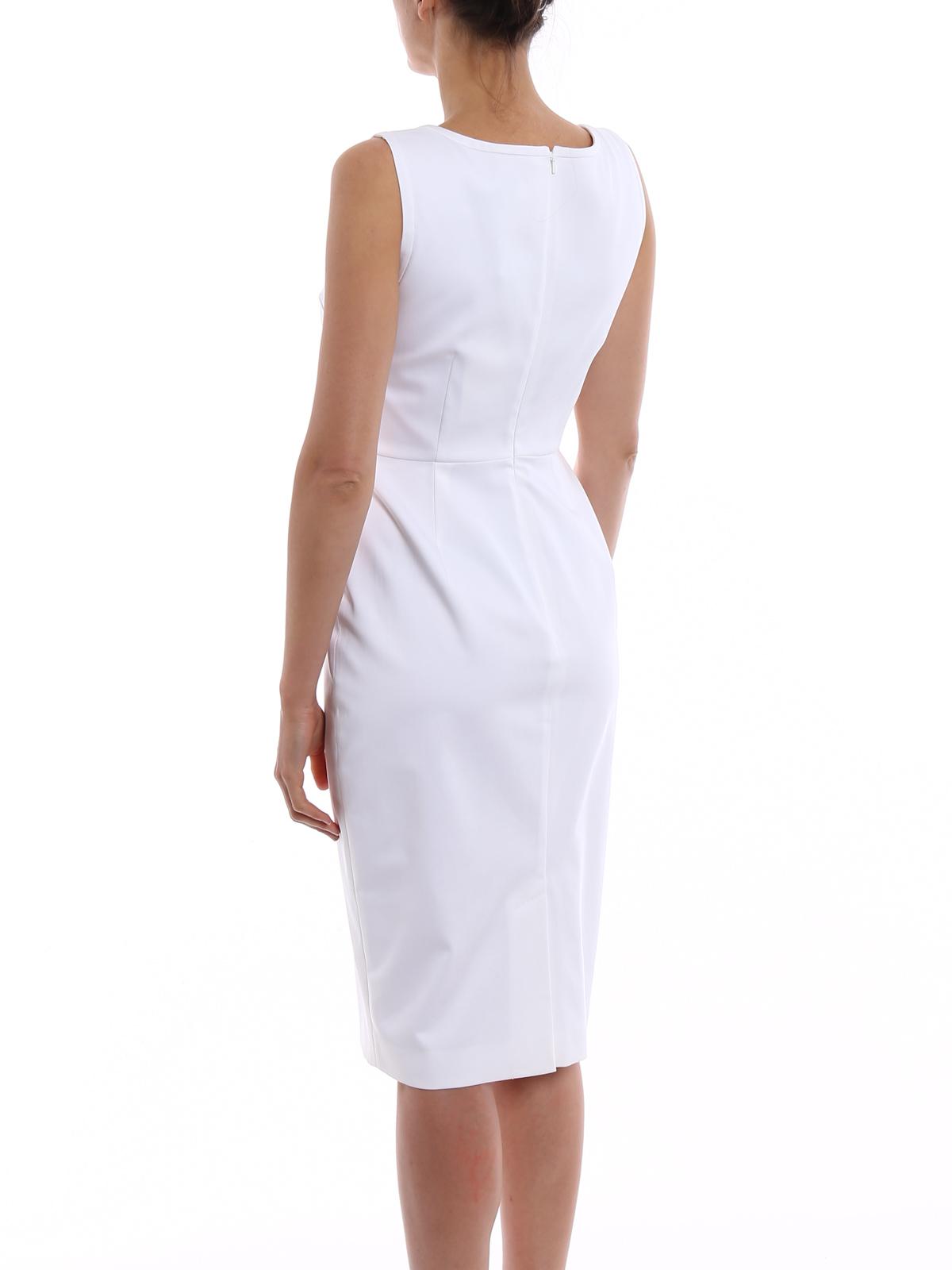 9dc560ea73 Max Mara - Tubino bianco Segnale - abiti al ginocchio - 12212382 007