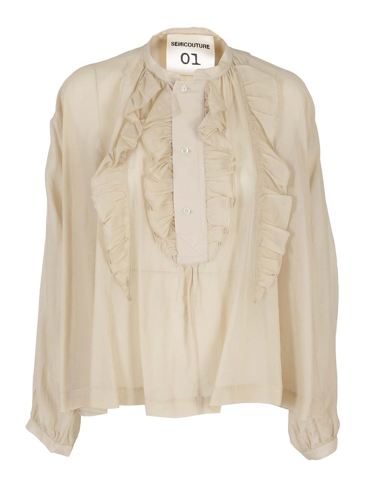 Semicouture Shirts BIBIANE BLOUSE
