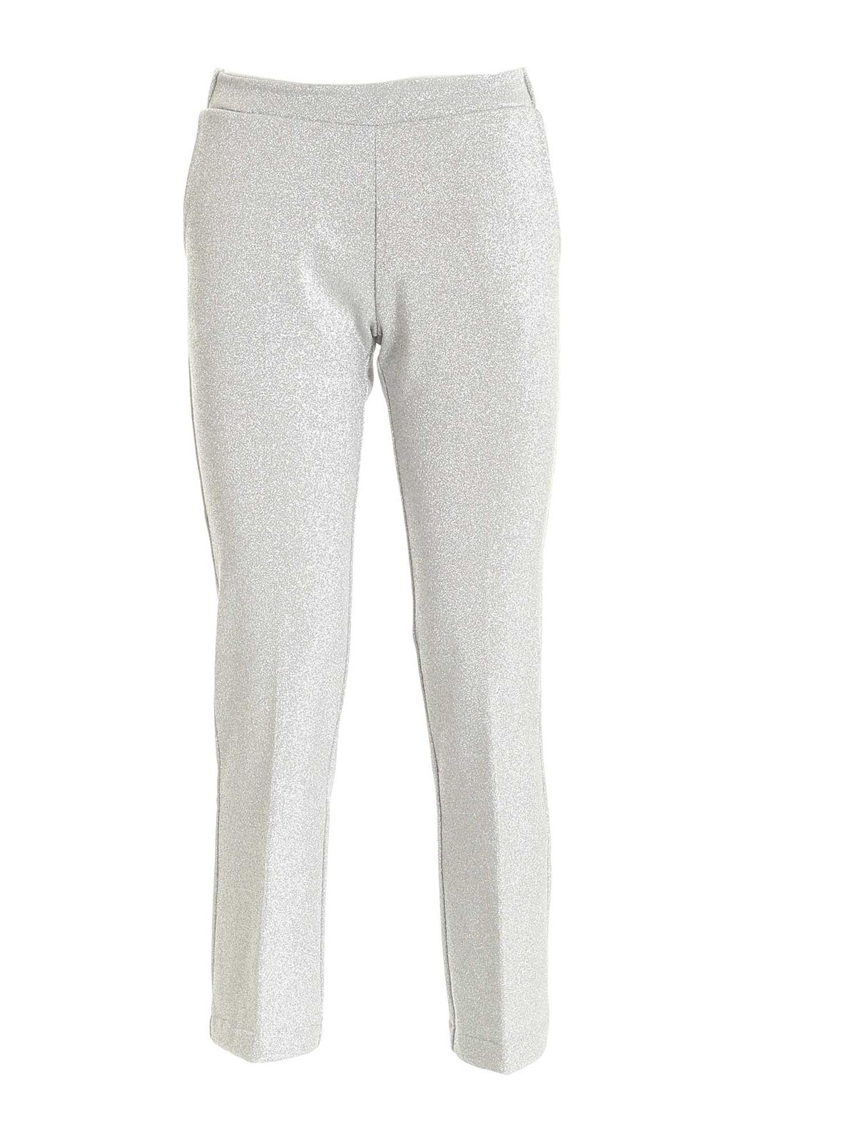 Semicouture VIRGINIE PANTS IN SILVER