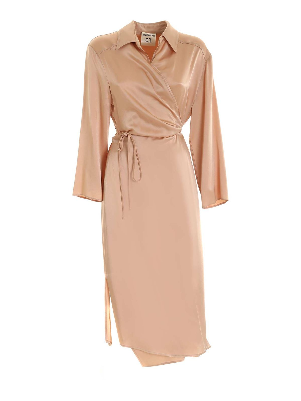 Semicouture ANDREANNE DRESS IN PINK