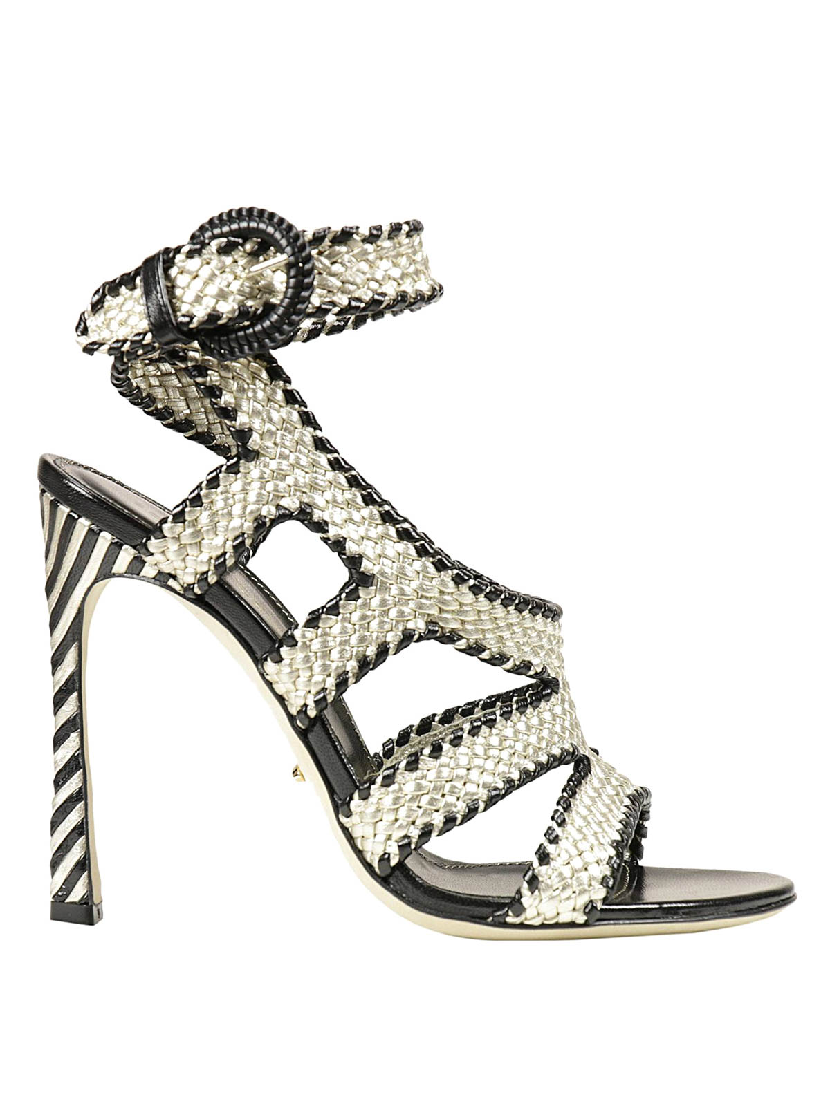 Sergio Rossi woven sandals cheap price for sale discount clearance store latest collections outlet good selling wholesale online 1SIbgTTk