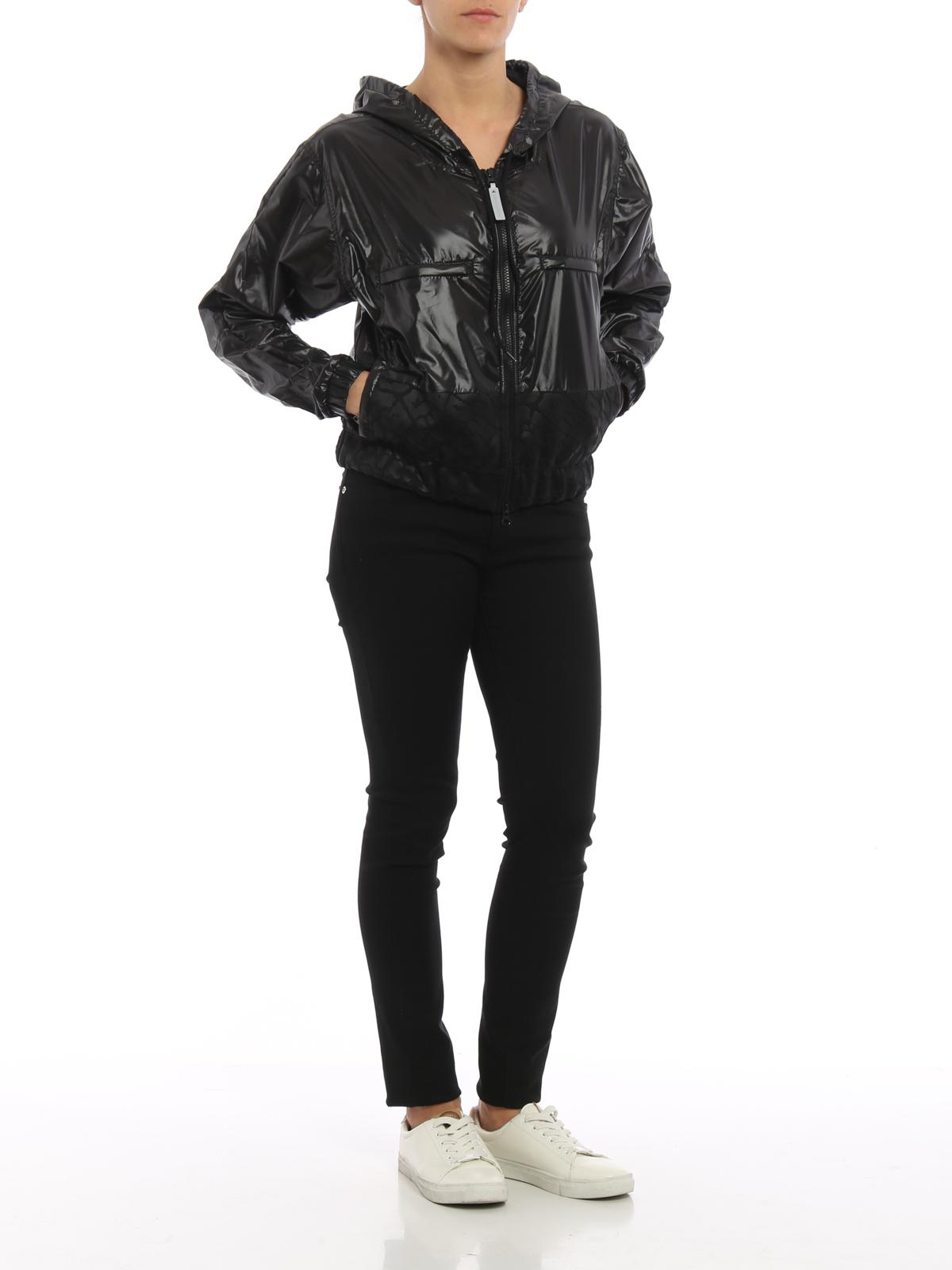 6bb578e32f Adidas by Stella McCartney - Veste Casual Noir Pour Femme - Vestes ...