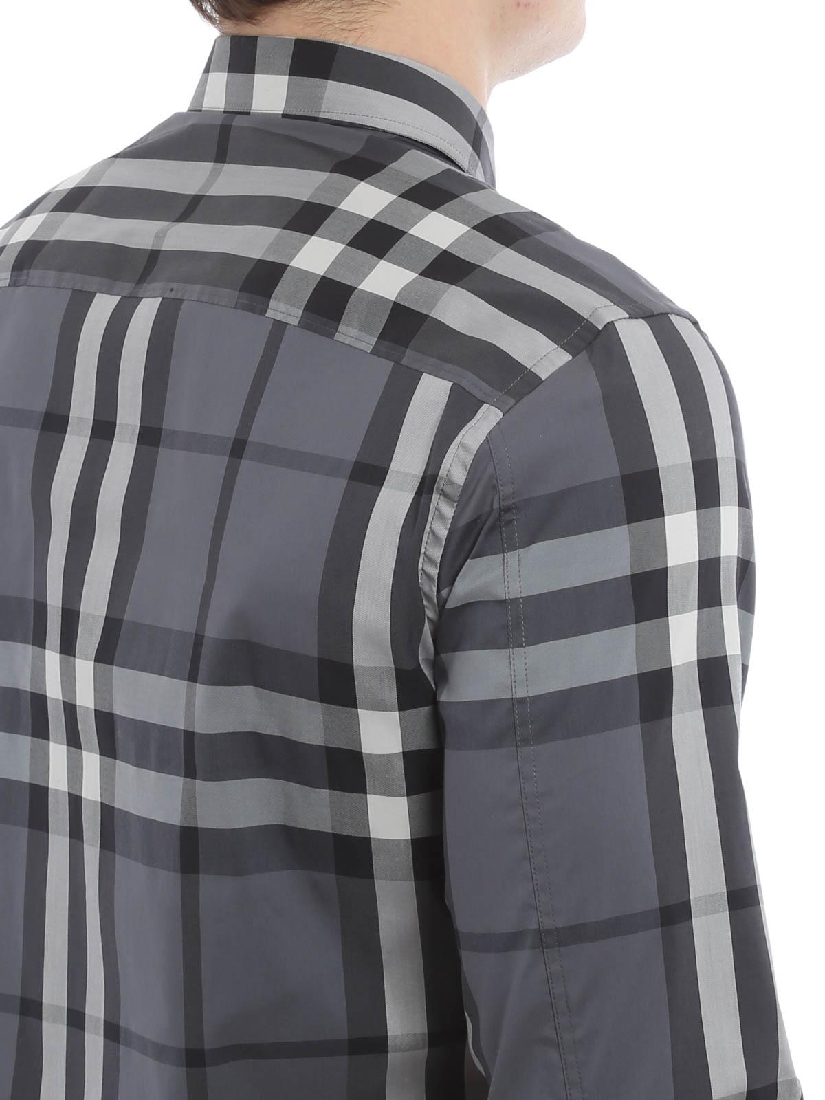 4b5dd151b7c Burberry - Checked Nelson shirt - shirts - 3983537