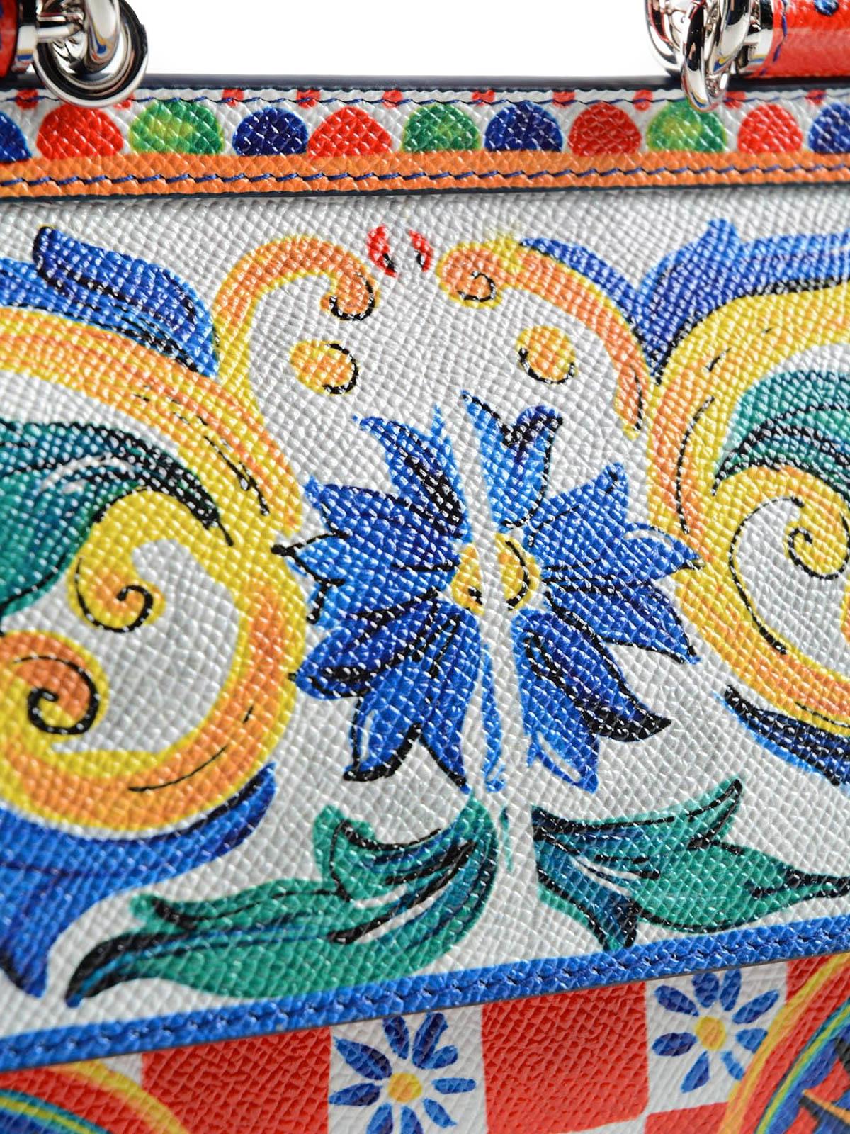 759ed585354e Dolce   Gabbana - Sicily Mambo print small bag - bowling bags ...