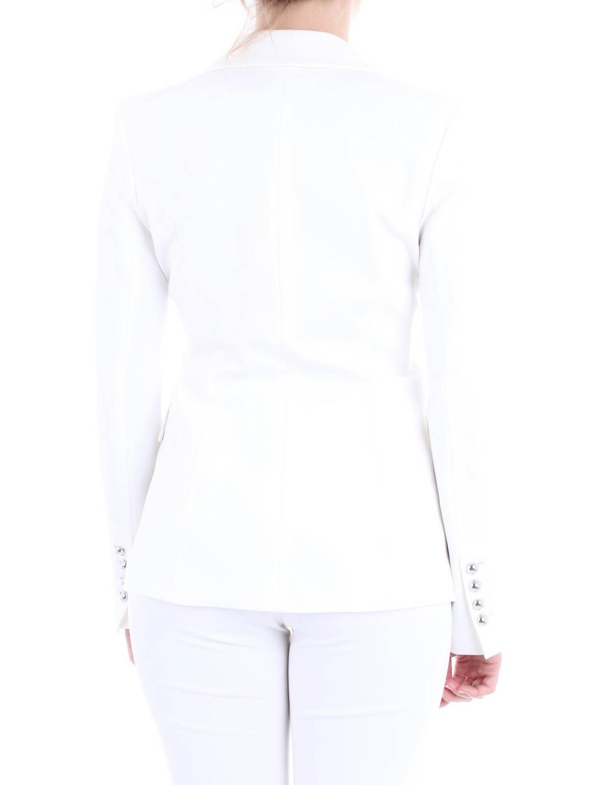 7a94badbc4 Pinko - Signum 6 white blazer - blazers - 1G140Q6151Z10 | iKRIX.com
