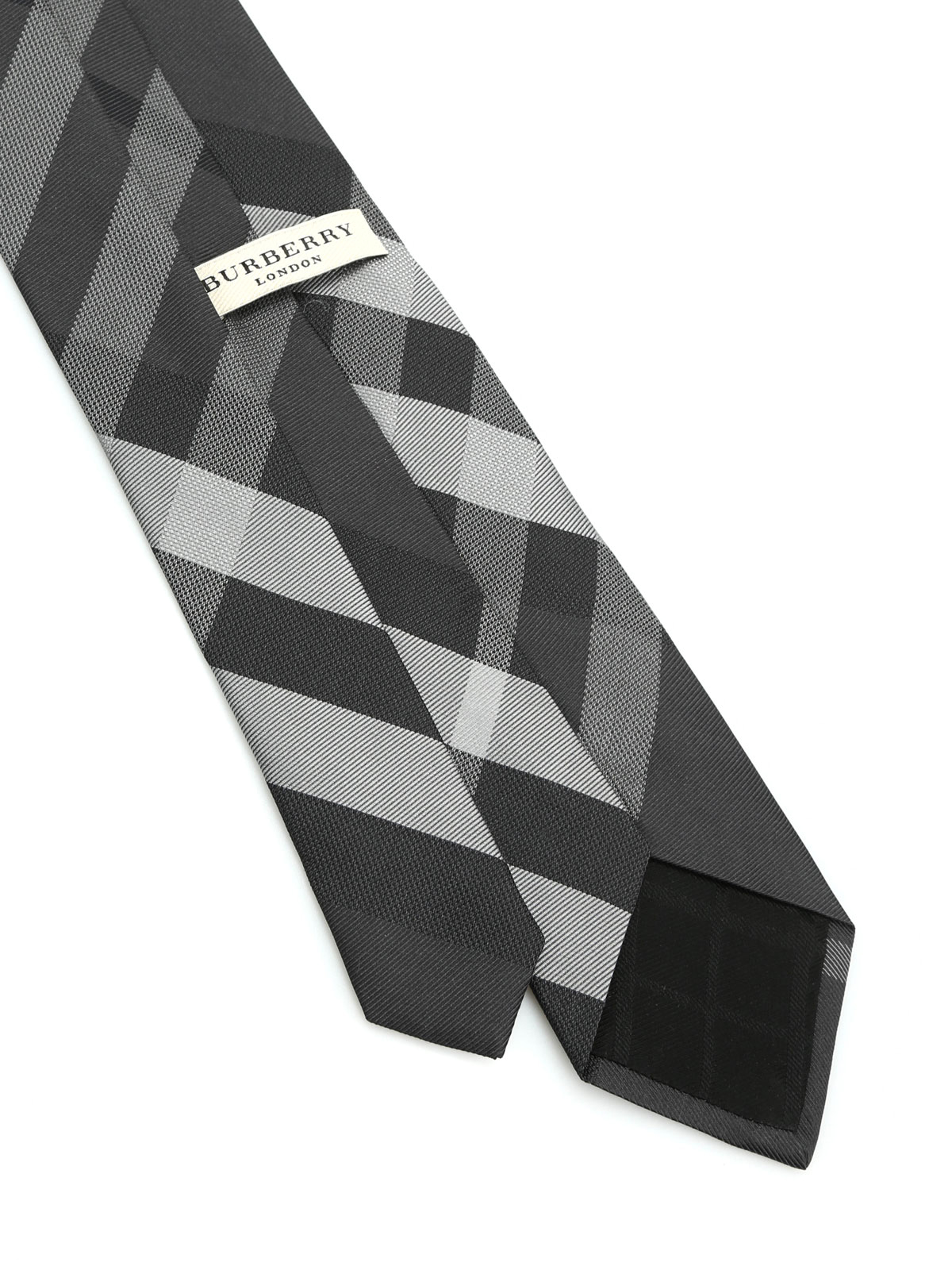 black burberry bow tie