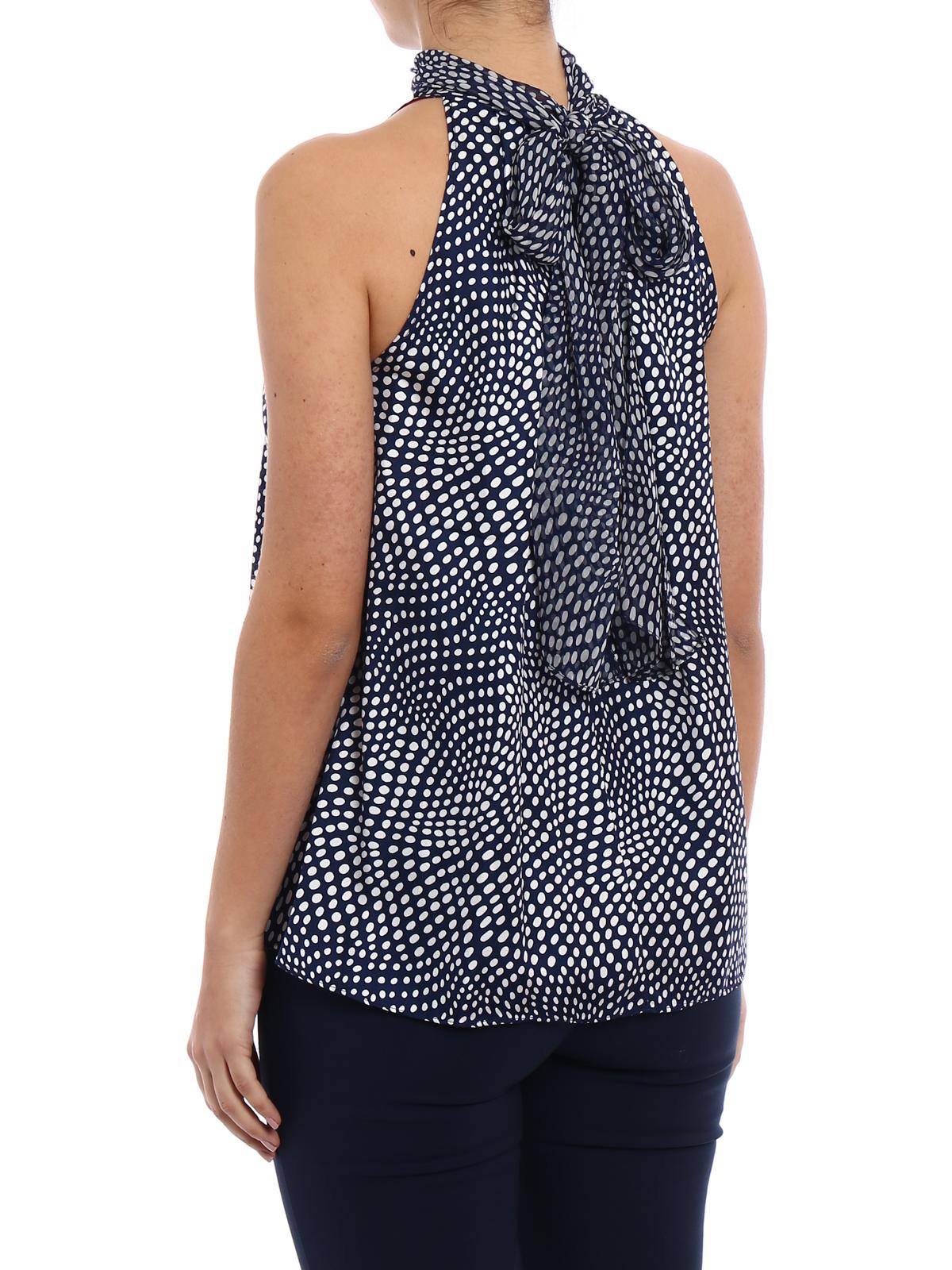 Furstenberg Diane Von Tops Camisetas Sin Top Multicolor Y HH5rSnawq