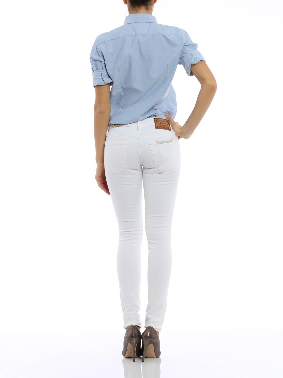 jeans skinny cinque tasche polo ralph lauren jeans. Black Bedroom Furniture Sets. Home Design Ideas