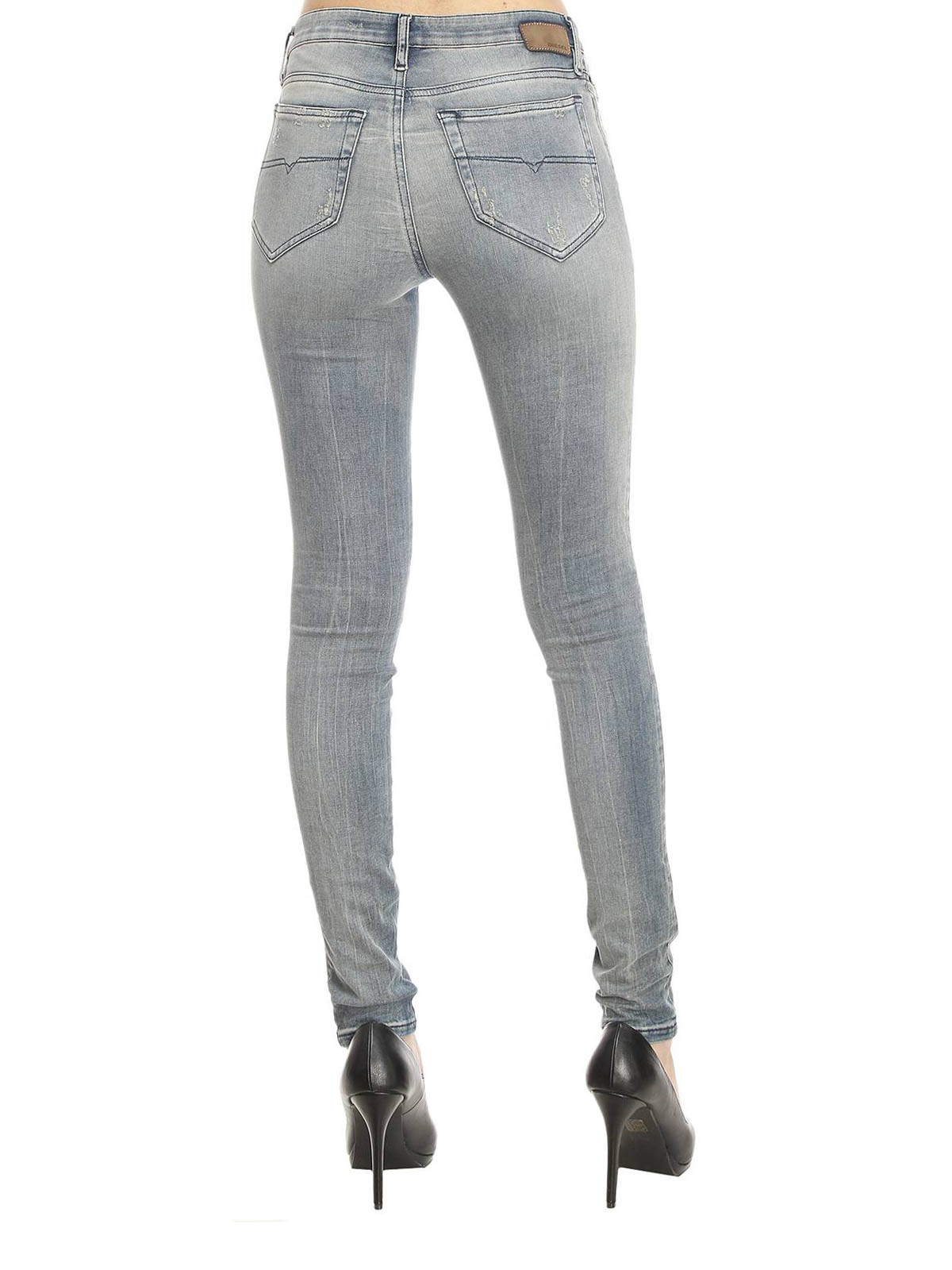 Skinzee super skinny jeans by Diesel - skinny jeans   iKRIX