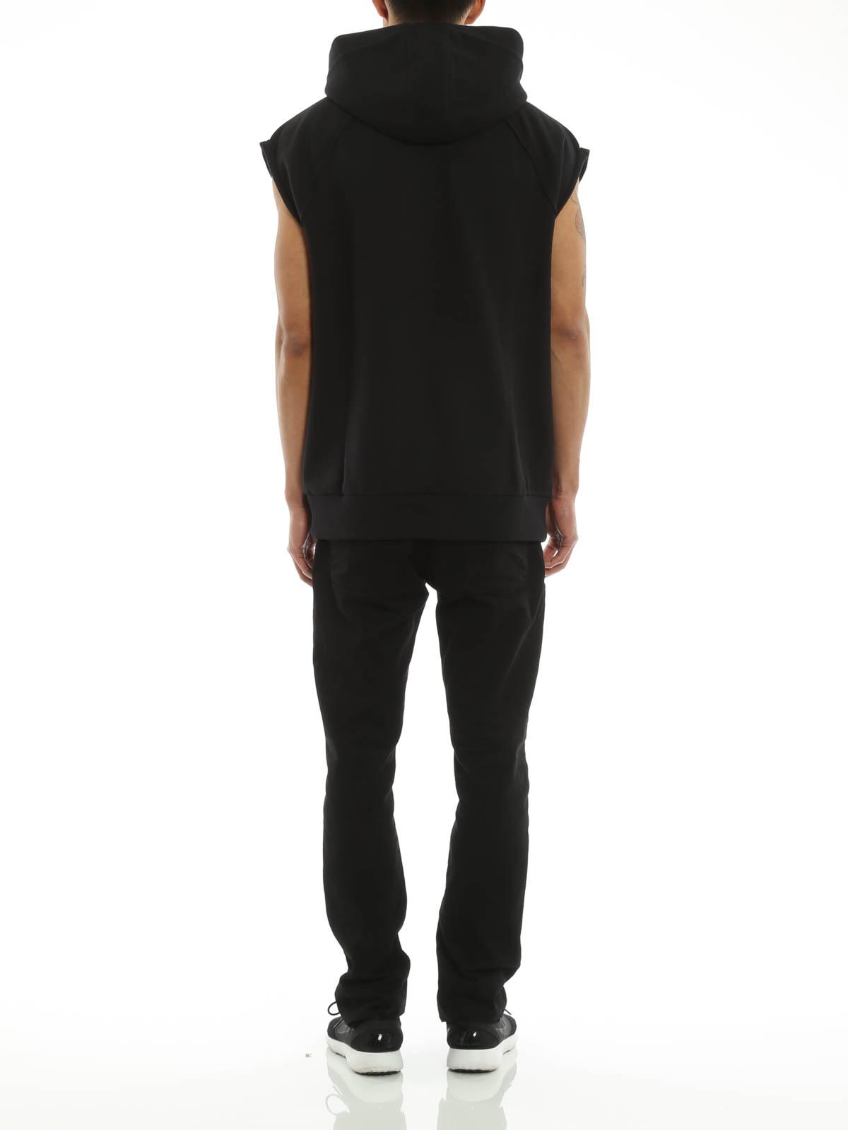 on sale a565d 52f2a Givenchy - Felpa smanicata con cappuccio - Felpe e maglie ...