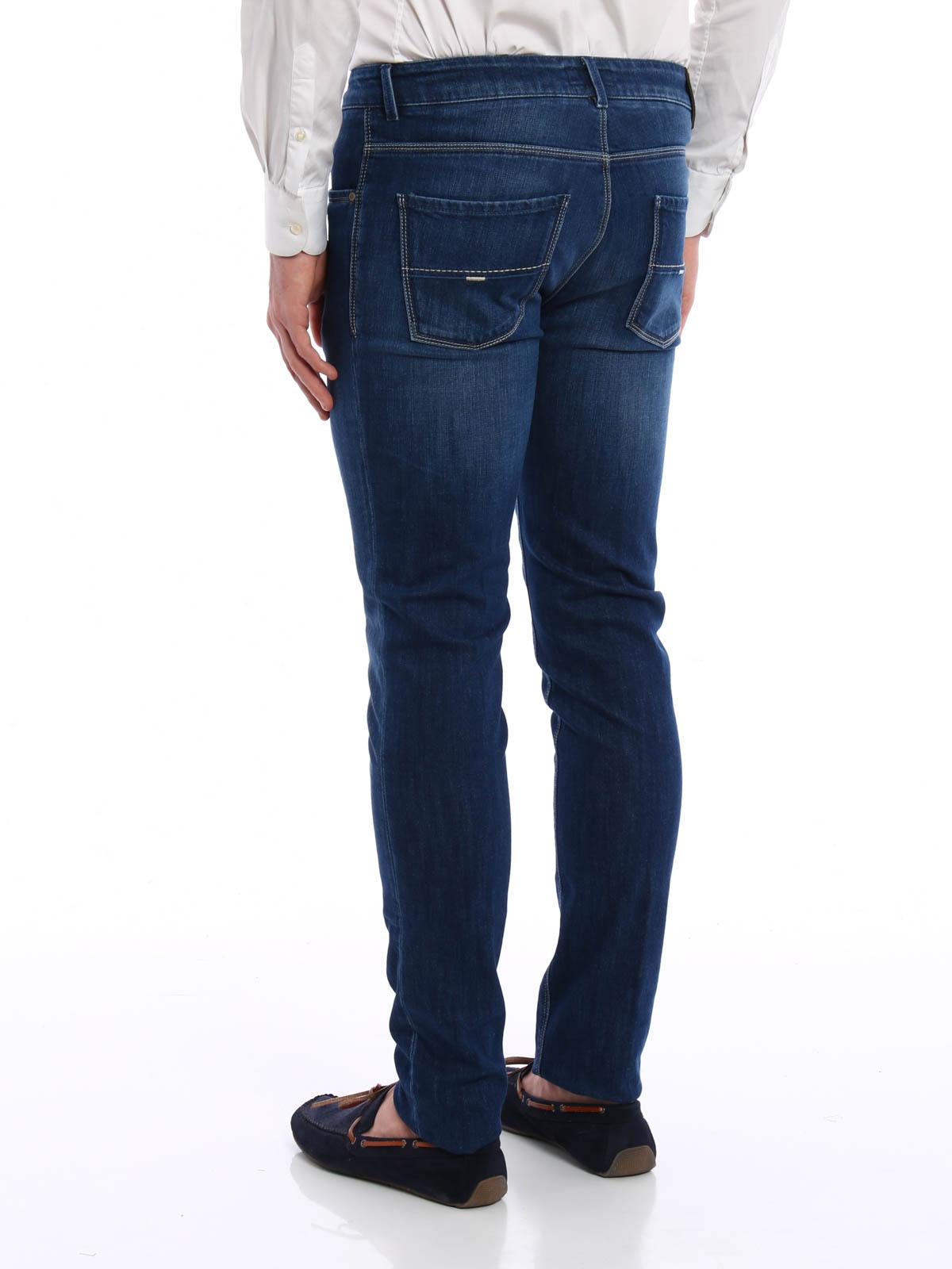 Fay Slim fit straight leg jeans straight leg jeans