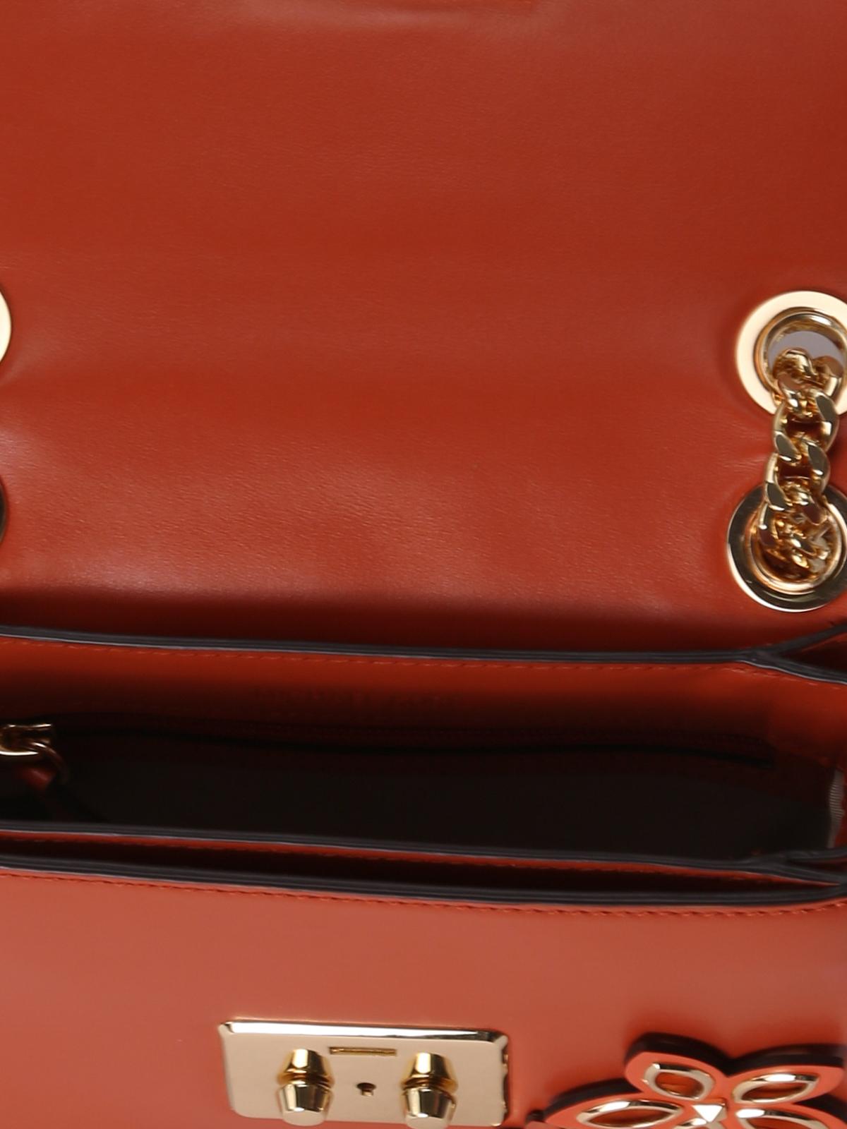 3d4830f85aa9 Sloan flower appliqué small bag shop online: MICHAEL KORS. MICHAEL KORS: shoulder  bags ...