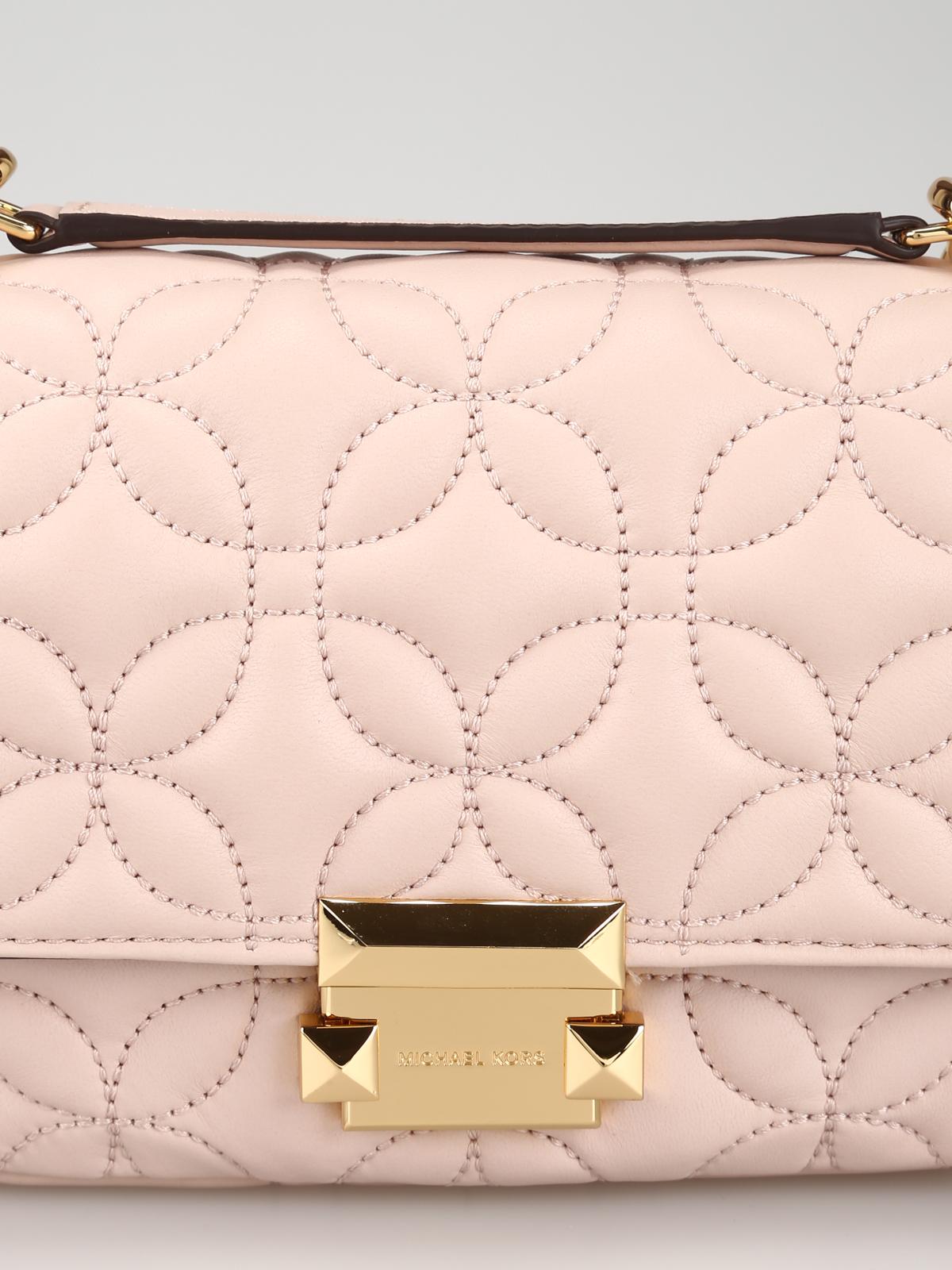 732feaa6a5a6 Sloan soft pink matelassé leather small bag shop online: MICHAEL KORS