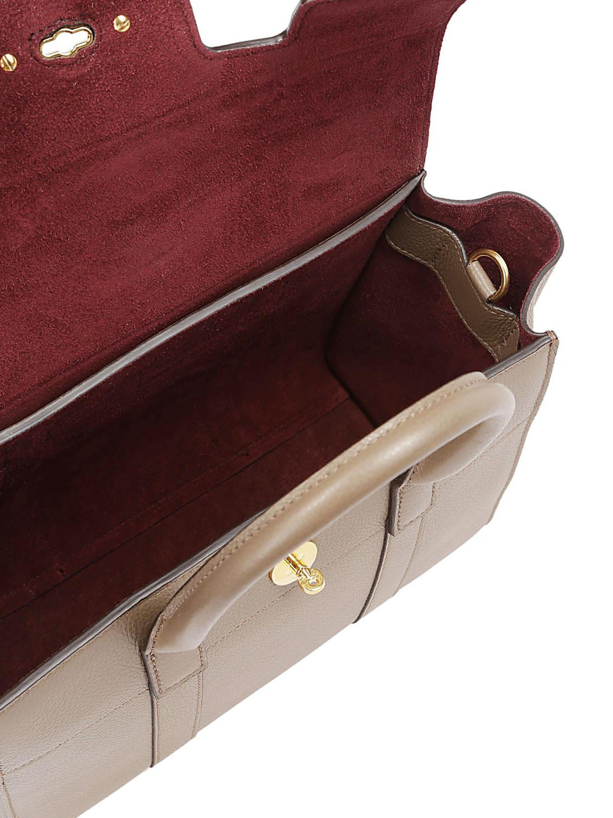 cff165c55d2a Small Bayswater clay grain leather bag shop online  MULBERRY · MULBERRY  bowling  bags ...