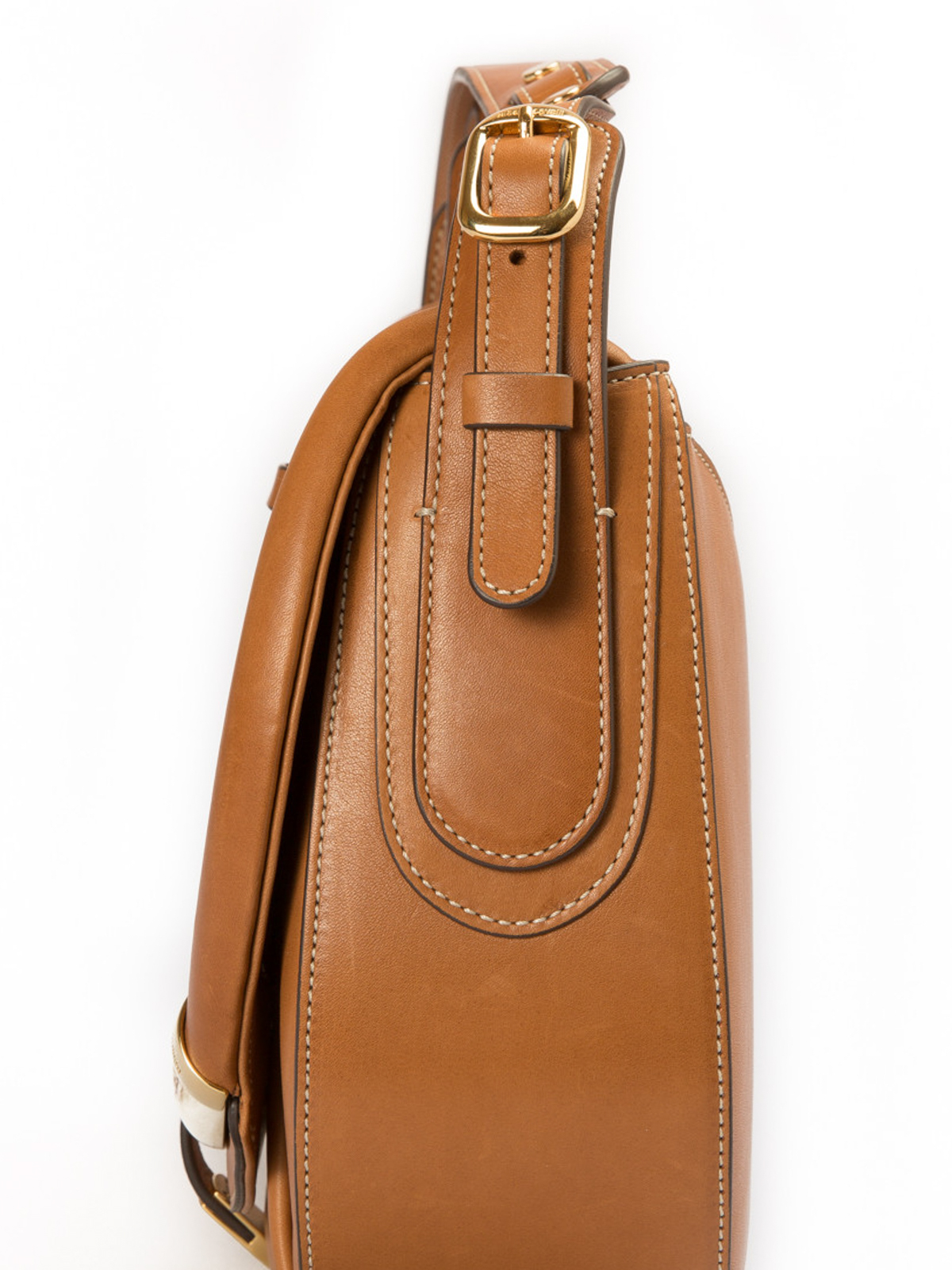 19cb4c4104b3 Roberto Cavalli - Smooth leather horn detailed bag - shoulder bags ...
