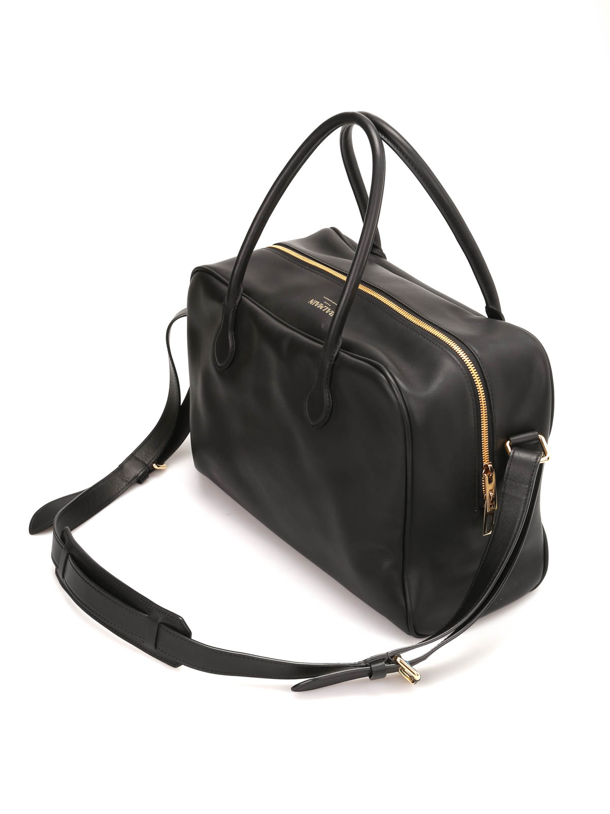 909c846aac9 Balmain - Smooth leather Pierre bag - bowling bags - POMSP013306176