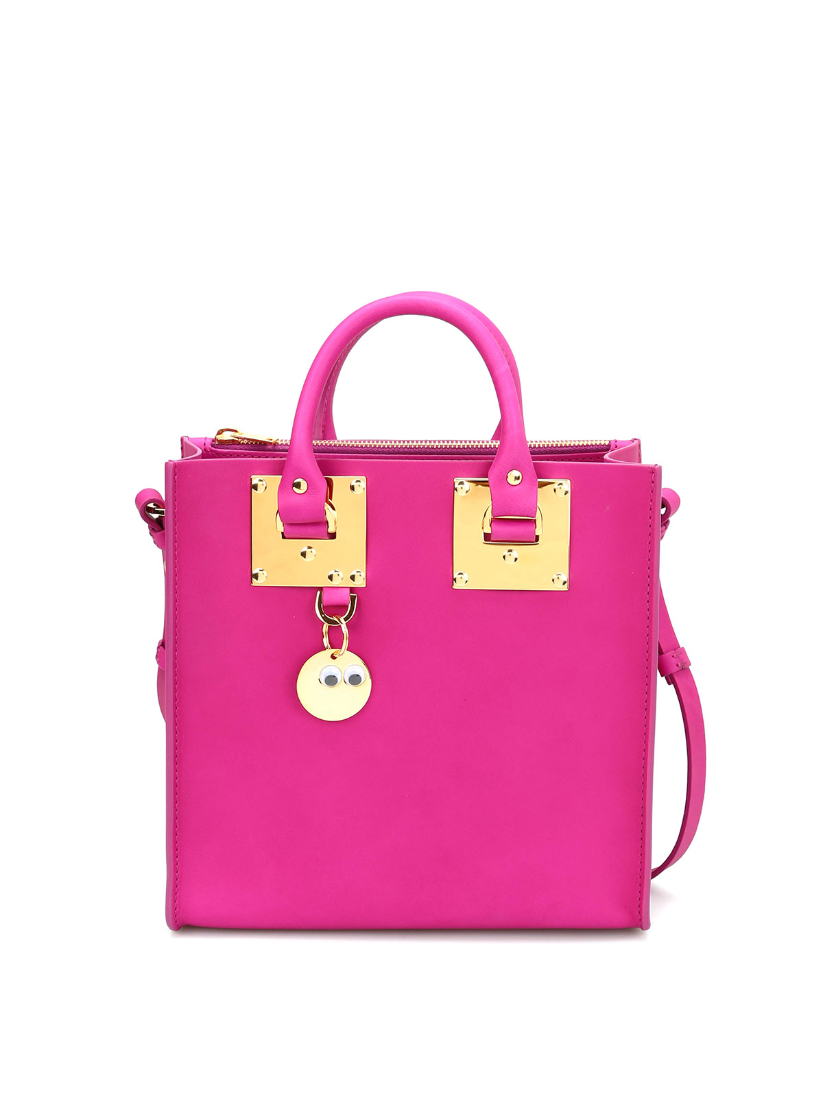 Sophie Hulme - Square Albion matte leather tote - totes bags ... 9852aecc33687