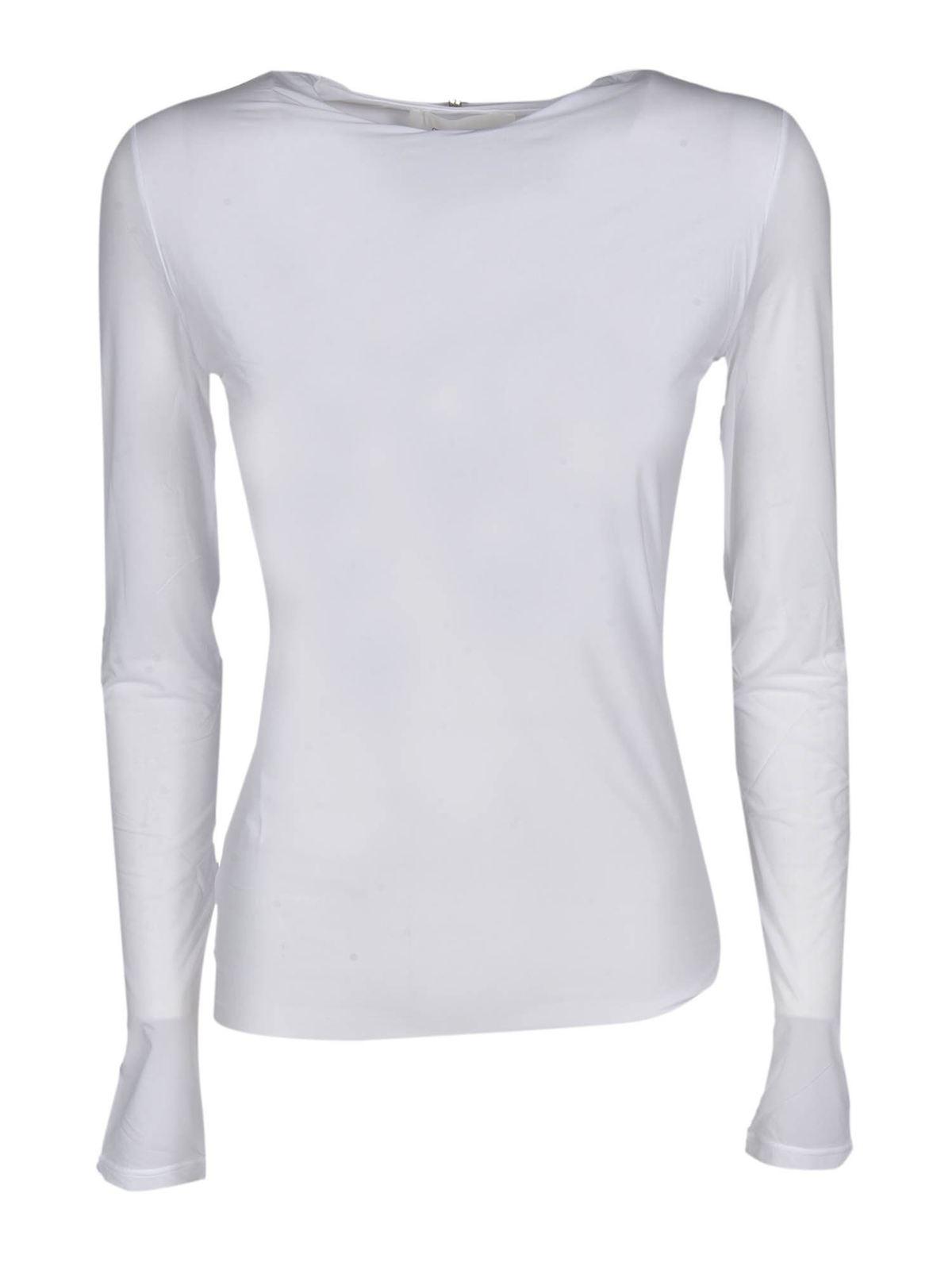 Sportmax ANZIO T-SHIRT IN WHITE