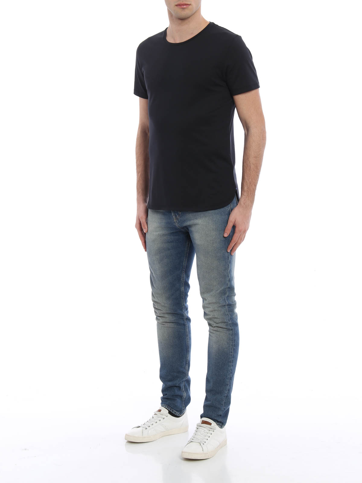 stantford cotton jersey t shirt by burberry t shirts ikrix