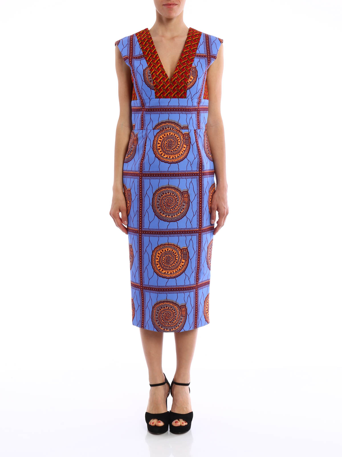 Pianista dress by Stella Jean - cocktail dresses | Shop online at ...