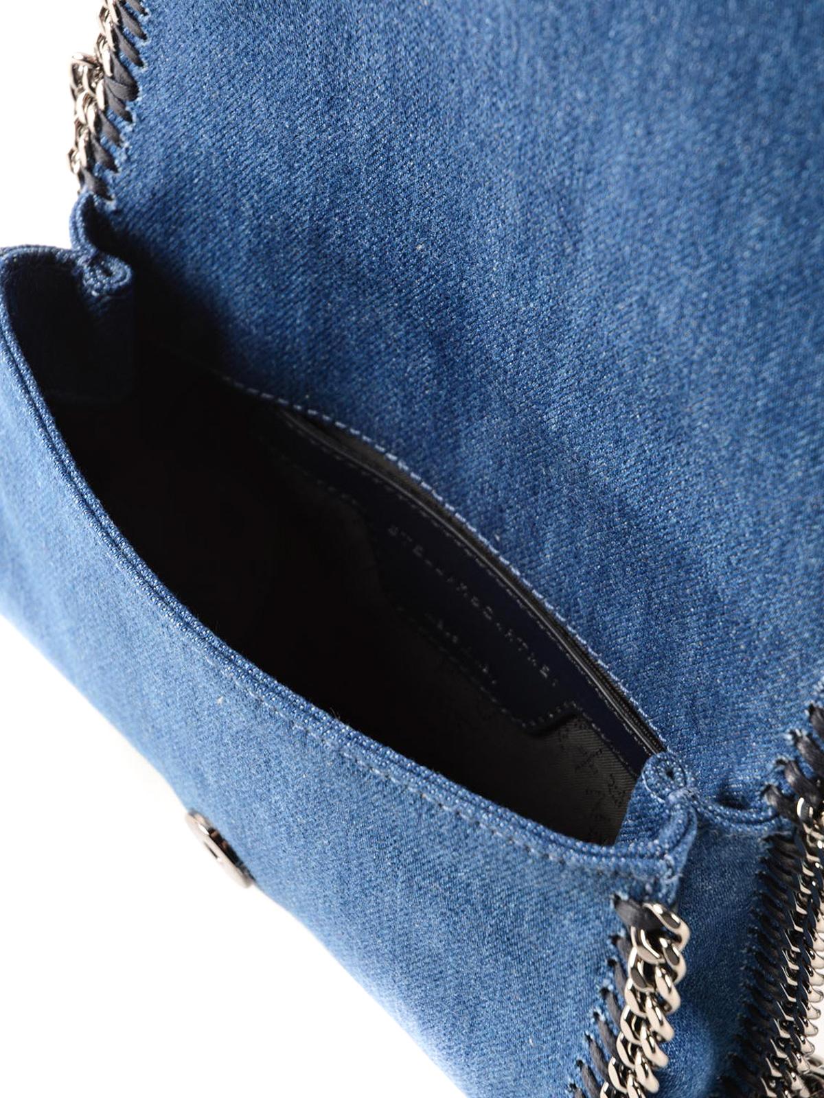 ce83080bee Stella Mccartney - Denim Falabella crossbody - cross body bags ...