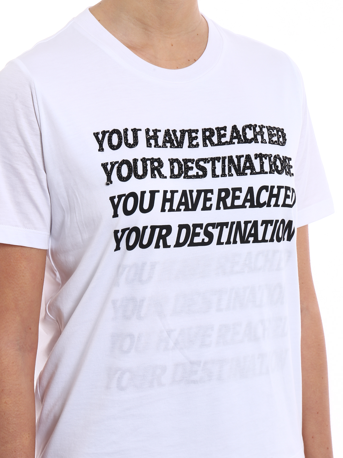 You Have Reached Your Destination T-shirt Stella McCartney Browse For Sale hTAmuF