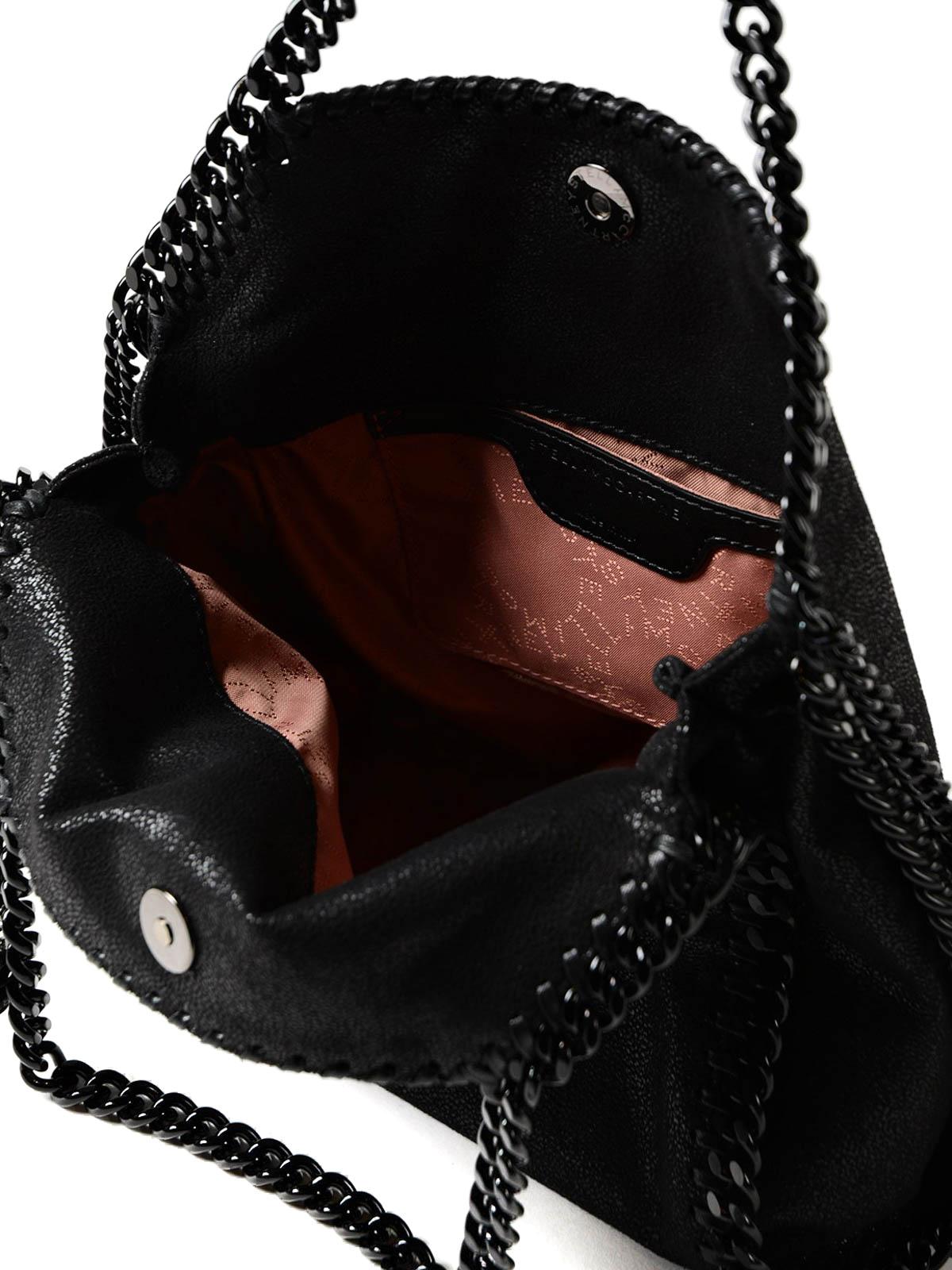 Stella Mccartney - Falabella shaggy deer mini bag - shoulder bags ... 7e4a648783137