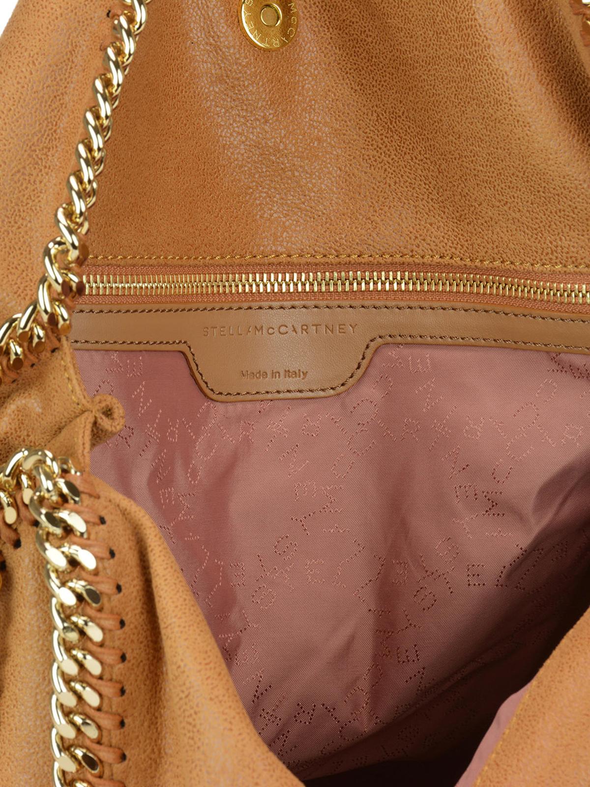 21f67329c4ae Stella Mccartney - Fold over Falabella tan tote - totes bags ...