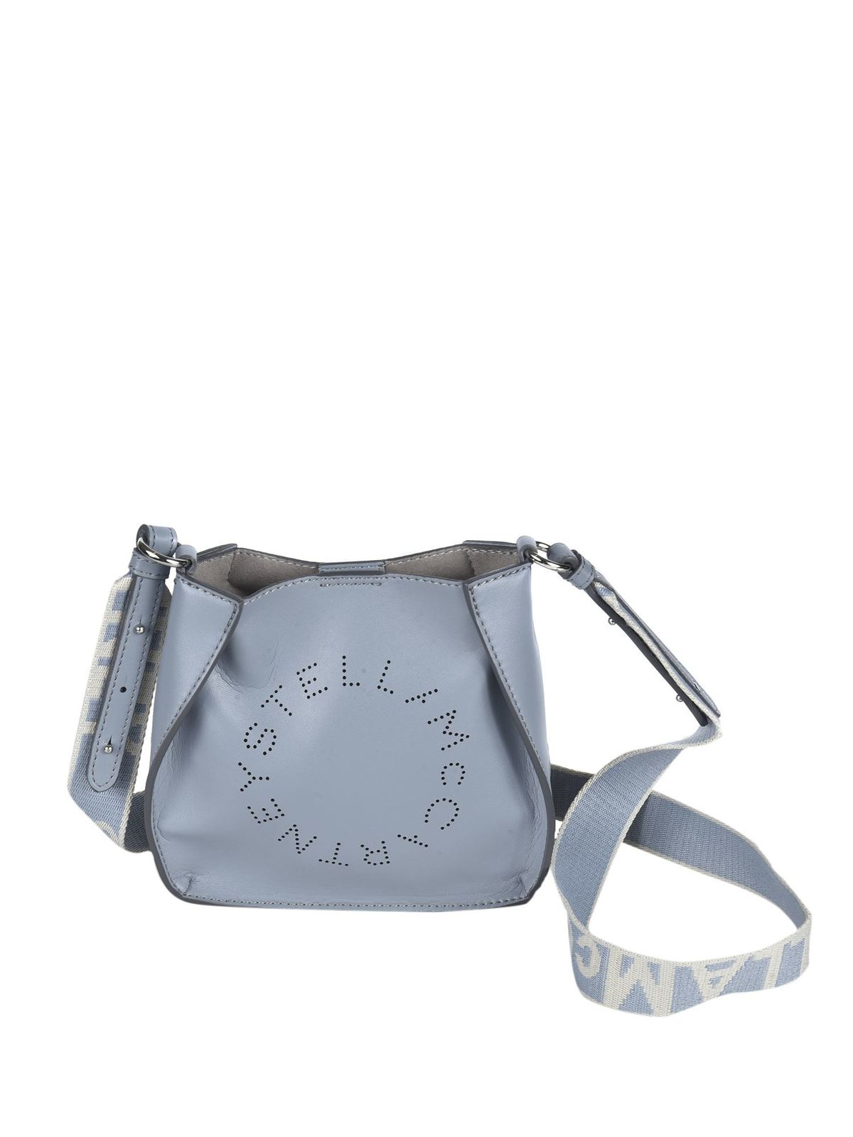 Stella Mccartney ECO SOFT HOBO BAG IN LIGHT BLUE