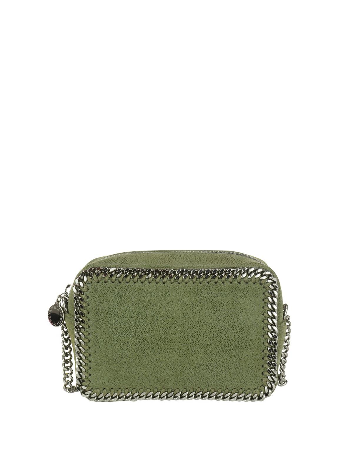 e3b687aa62 Stella Mccartney - Falabella olive green crossbody bag - cross body ...