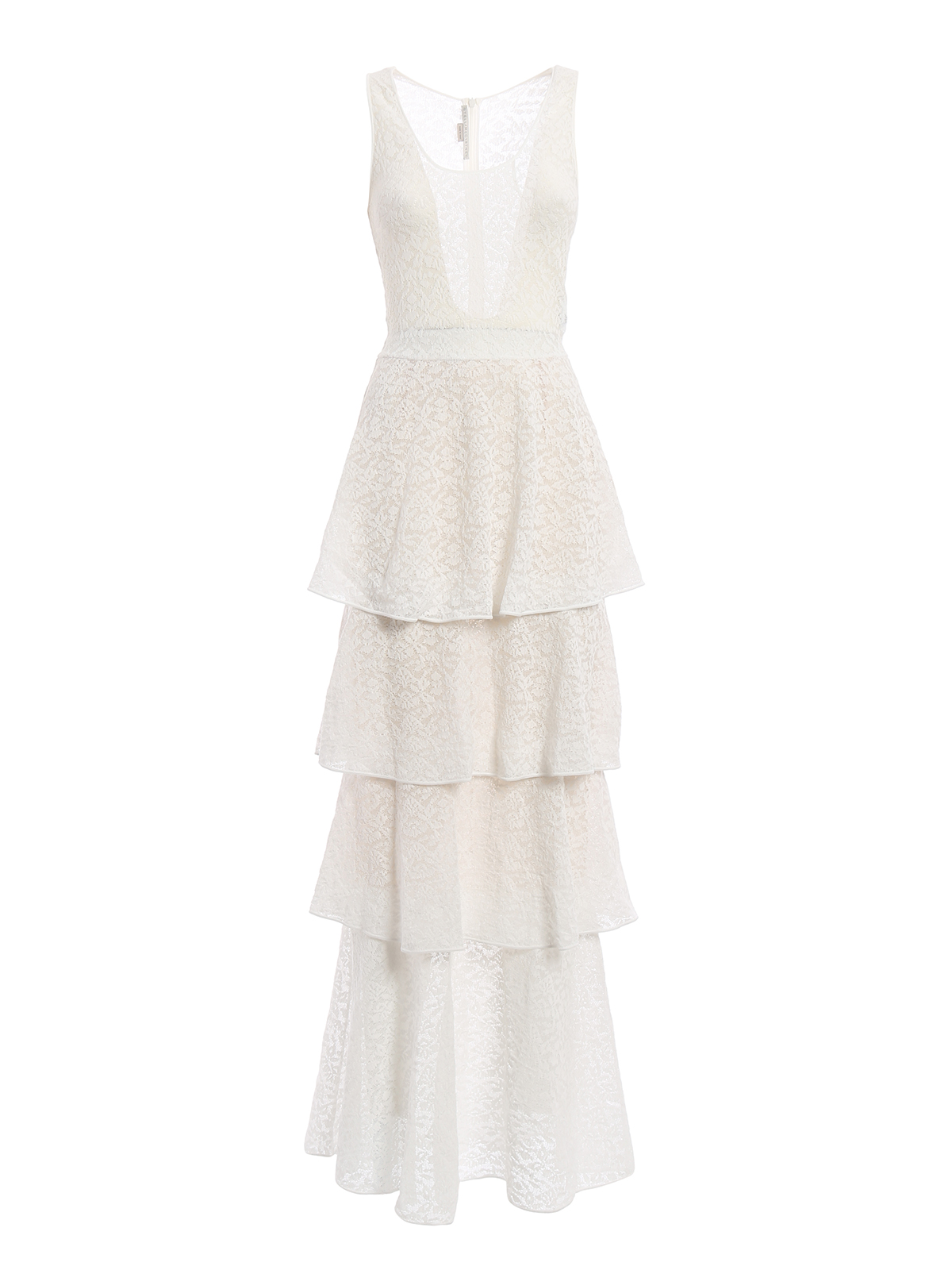 Stella Mccartney Layered Skirt Lace Evening Dress Evening