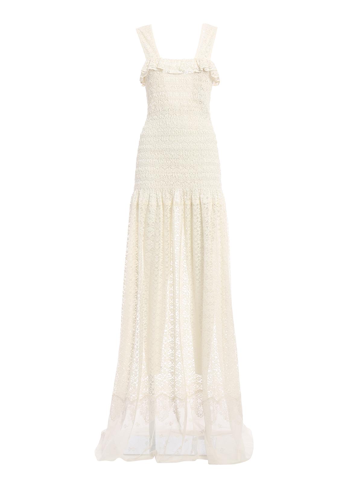 Stella Mccartney - Melanie romantic lace dress - evening dresses ...