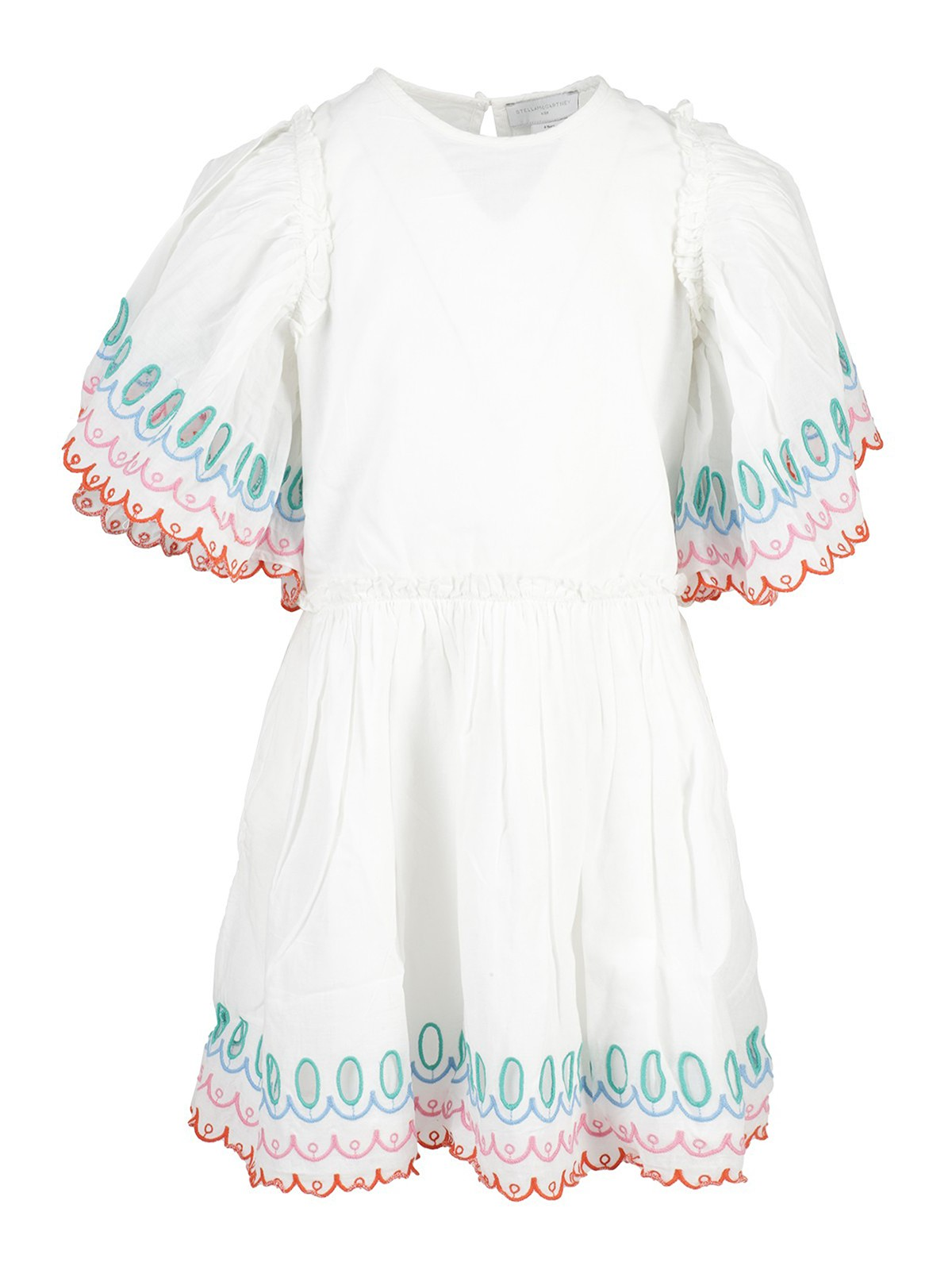 Stella Mccartney SCALLOPED COTTON DRESS