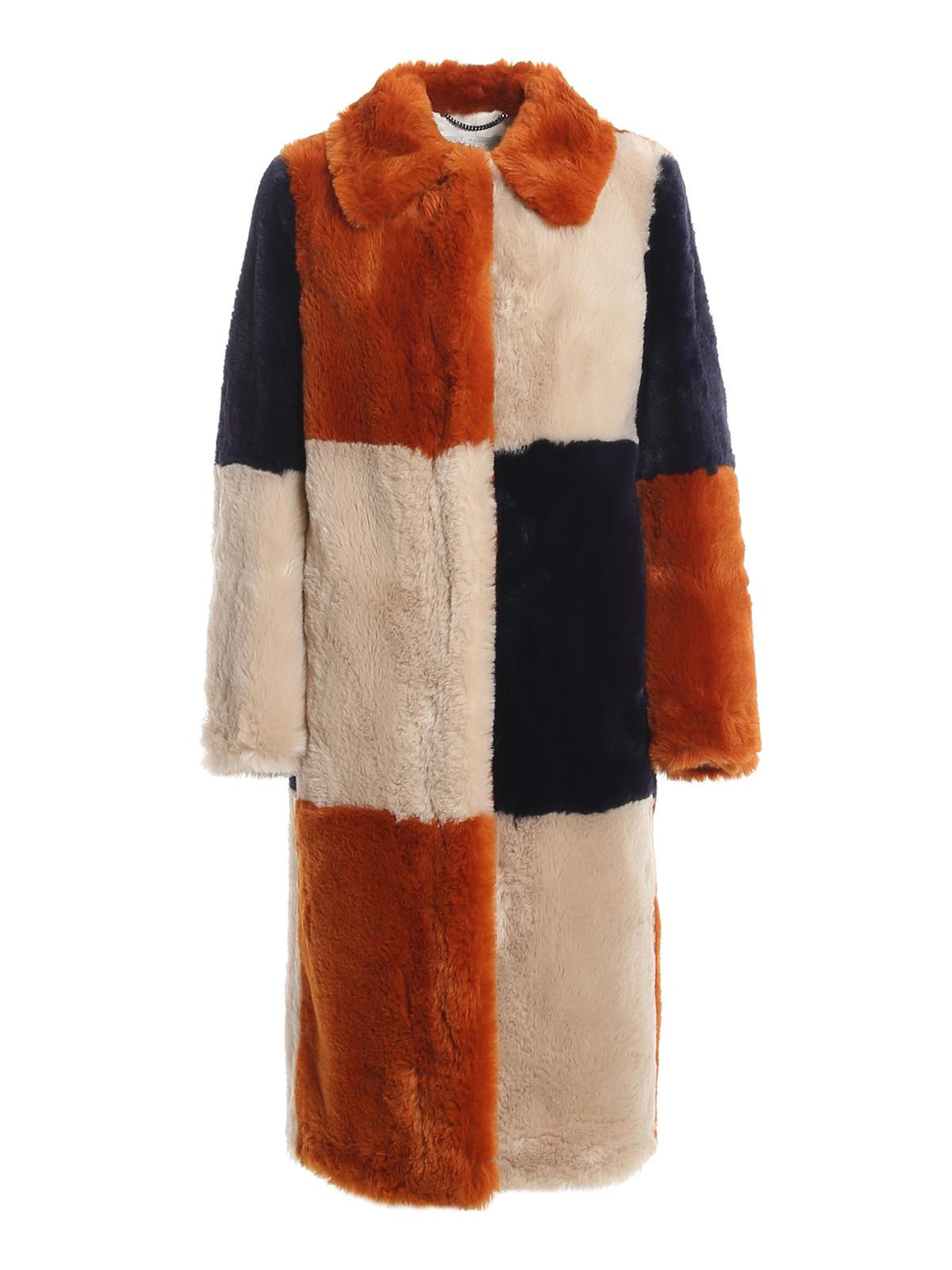 Stella Mccartney Furs ADALYN ECO FUR COAT