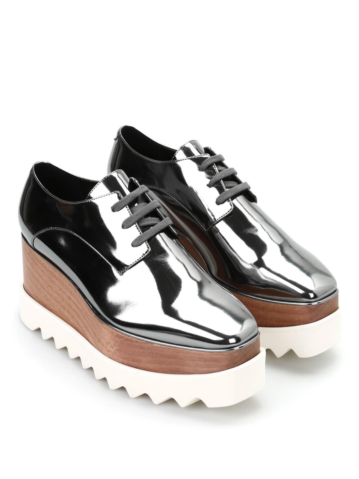davvero economico stili classici super economico Stella Mccartney - Scarpa Elyse maxisuola - scarpe stringate ...